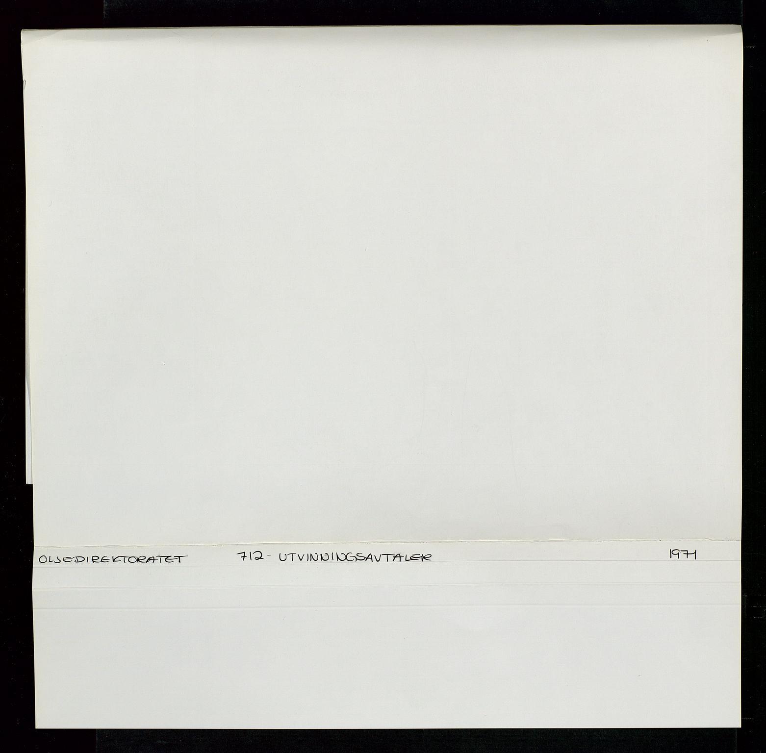 SAST, Industridepartementet, Oljekontoret, Da/L0004: Arkivnøkkel 711 - 712 Utvinningstillatelser, 1970-1971, s. 408