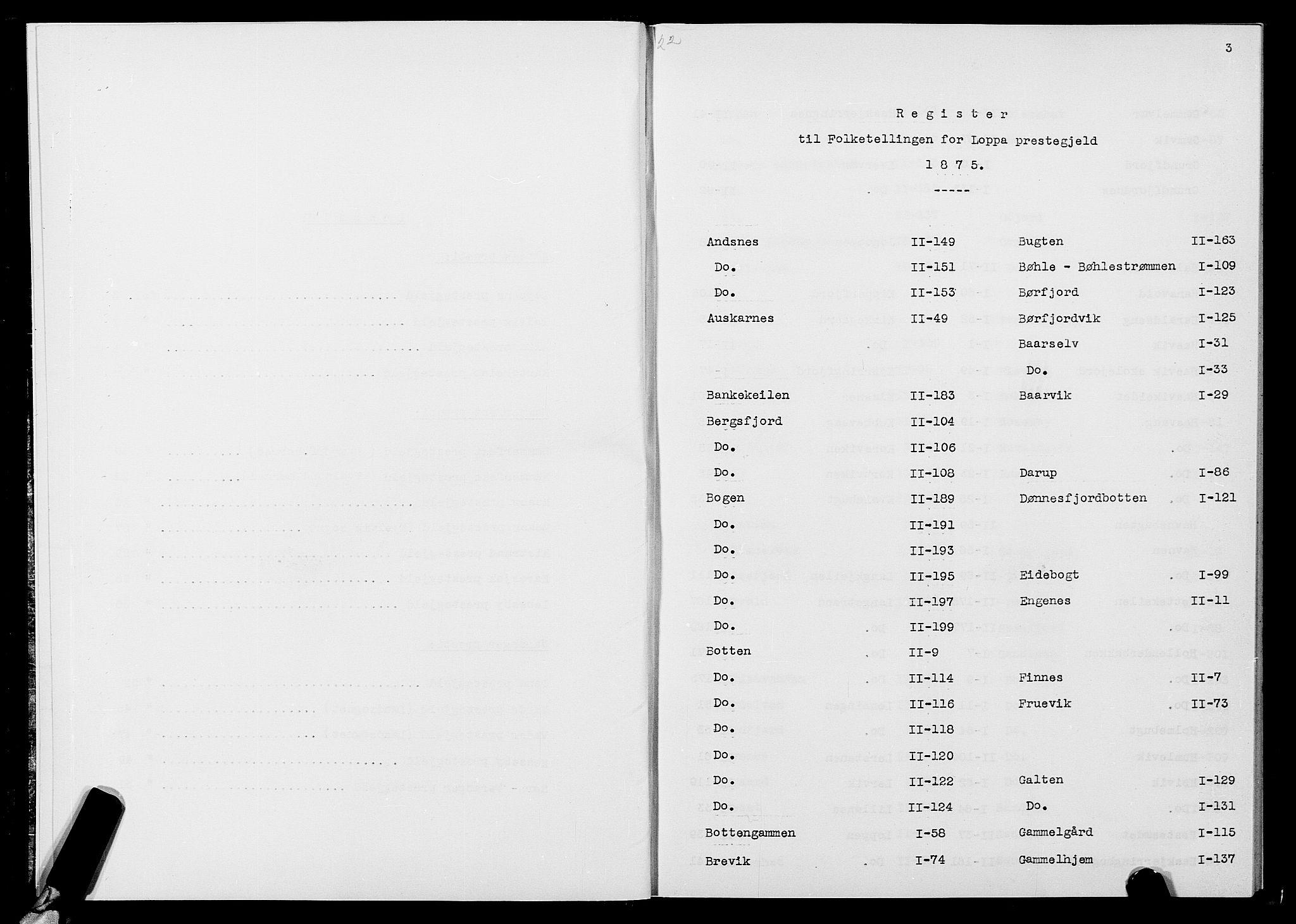 SATØ, Folketelling 1875 for 2014P Loppa prestegjeld, 1875, s. 3