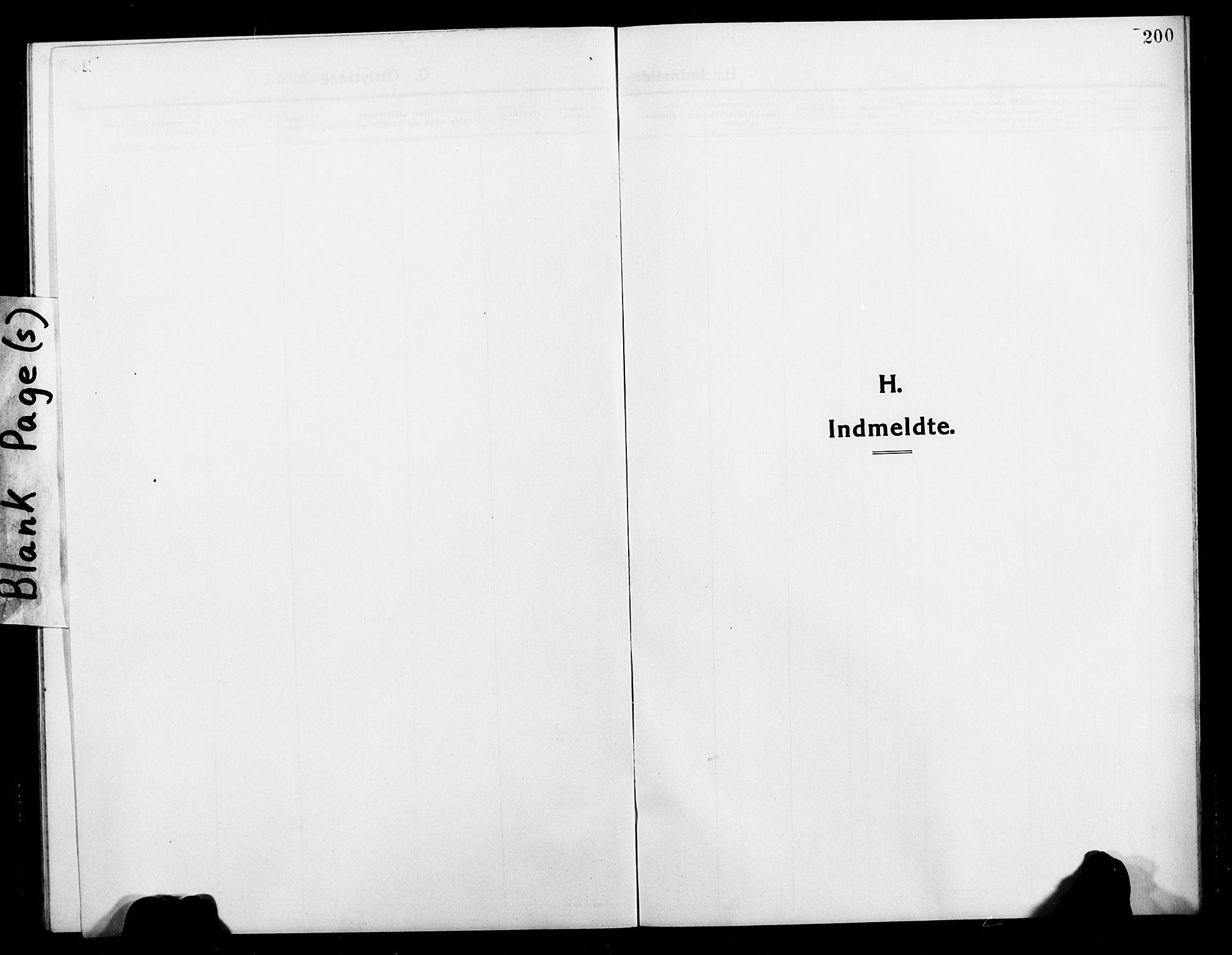 SATØ, Balsfjord sokneprestembete, Klokkerbok nr. 4, 1910-1926, s. 200
