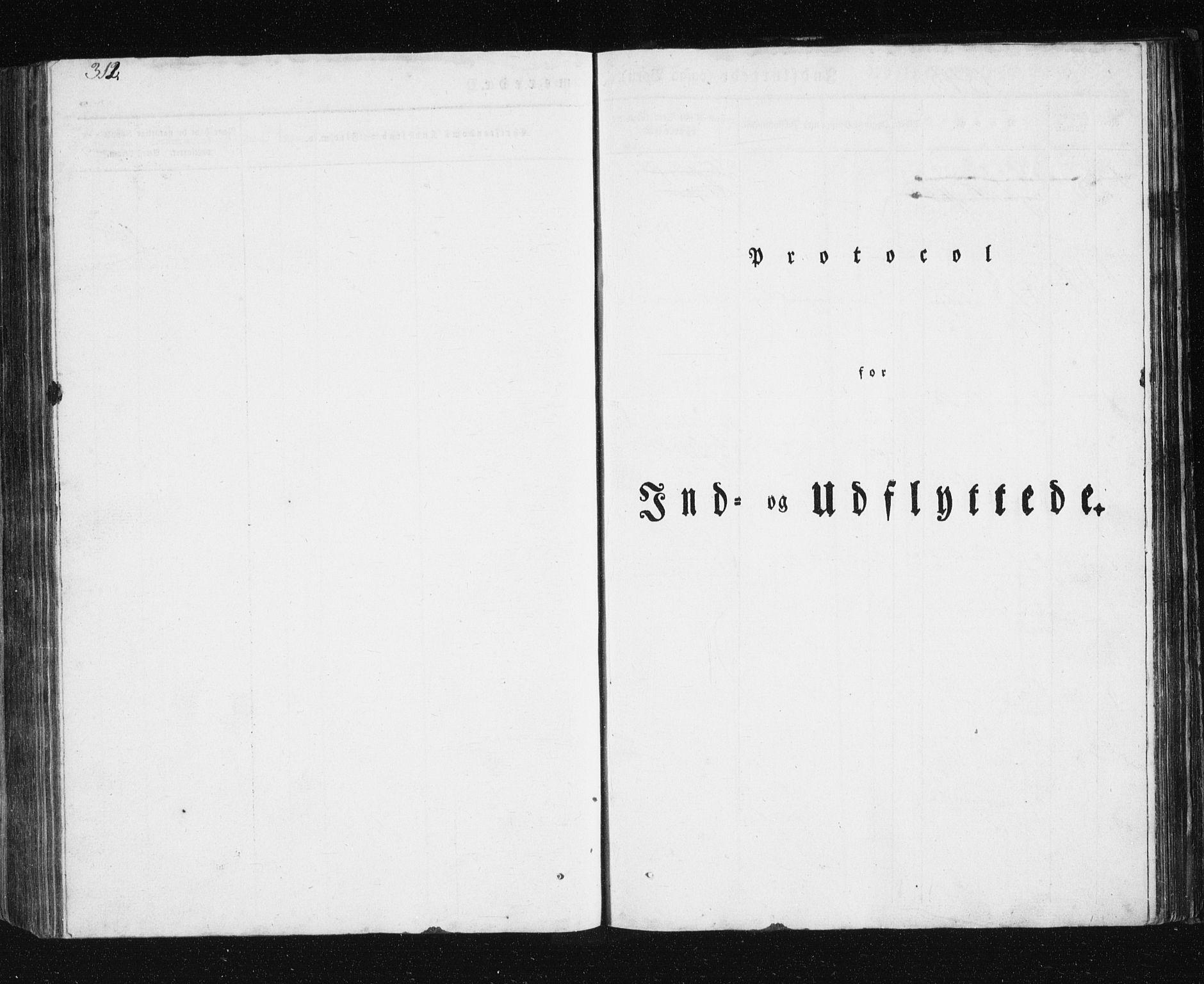 SATØ, Mefjord/Berg sokneprestkontor, G/Ga/Gab/L0011klokker: Klokkerbok nr. 11, 1833-1878, s. 312