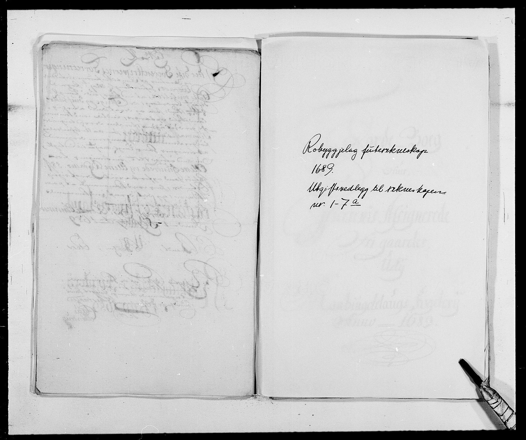 RA, Rentekammeret inntil 1814, Reviderte regnskaper, Fogderegnskap, R40/L2442: Fogderegnskap Råbyggelag, 1689-1690, s. 95