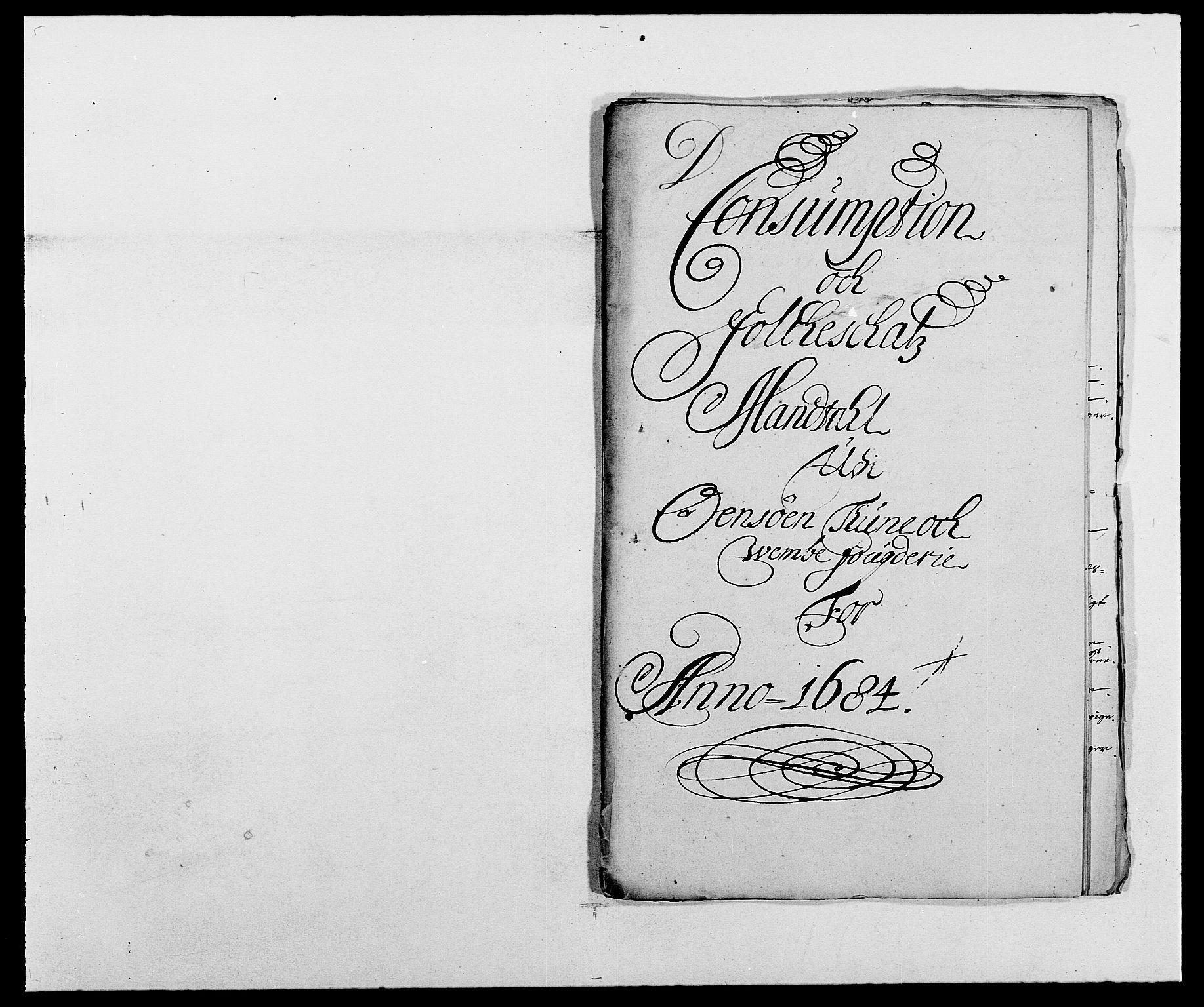 RA, Rentekammeret inntil 1814, Reviderte regnskaper, Fogderegnskap, R03/L0115: Fogderegnskap Onsøy, Tune, Veme og Åbygge fogderi, 1684-1689, s. 124