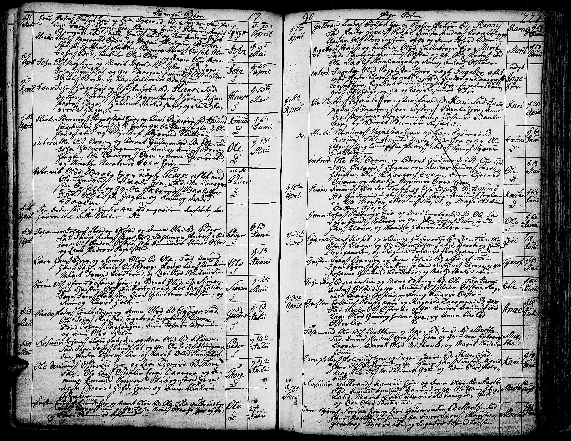SAH, Gausdal prestekontor, Ministerialbok nr. 3, 1758-1809, s. 227