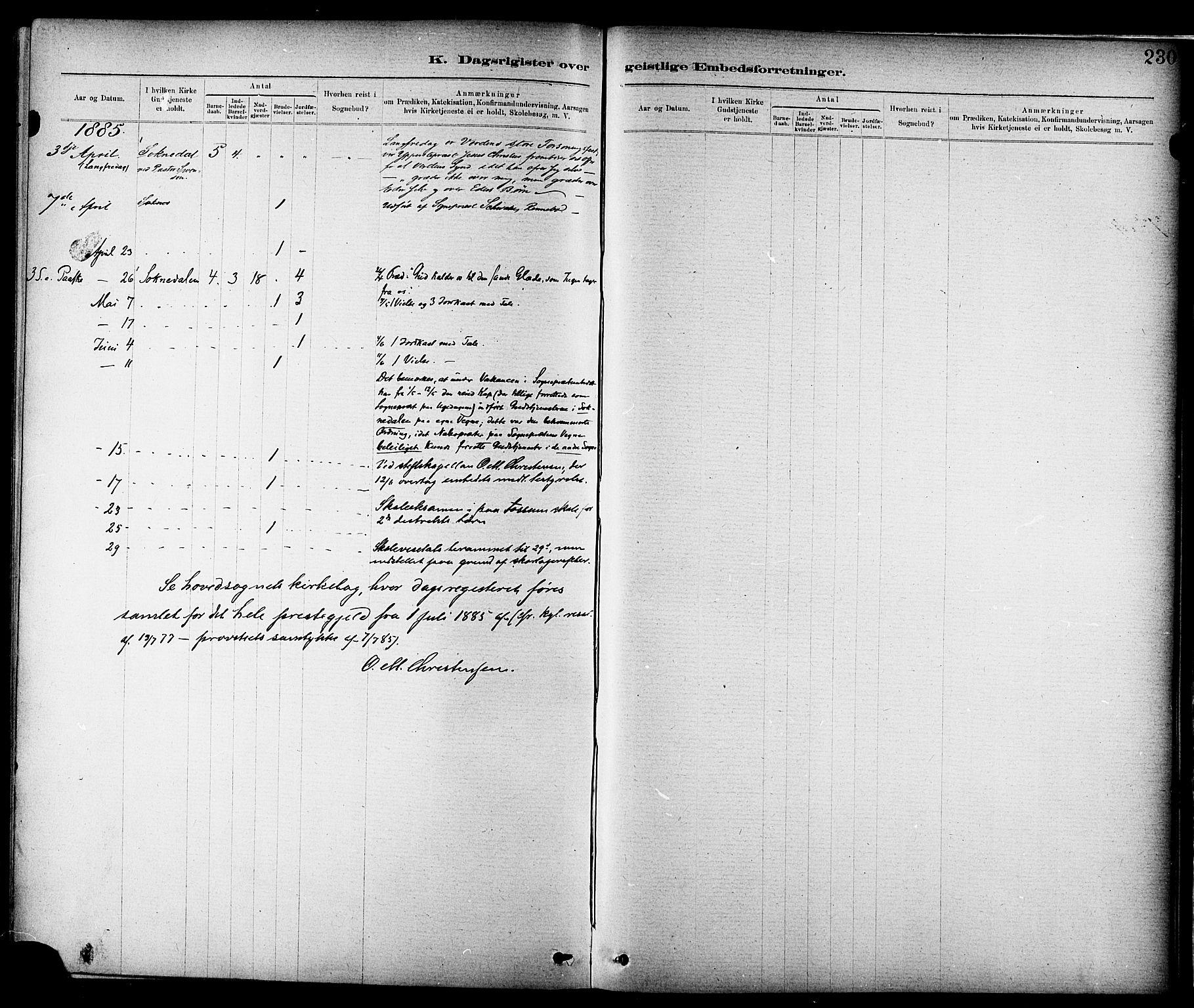 SAT, Ministerialprotokoller, klokkerbøker og fødselsregistre - Sør-Trøndelag, 689/L1040: Ministerialbok nr. 689A05, 1878-1890, s. 230