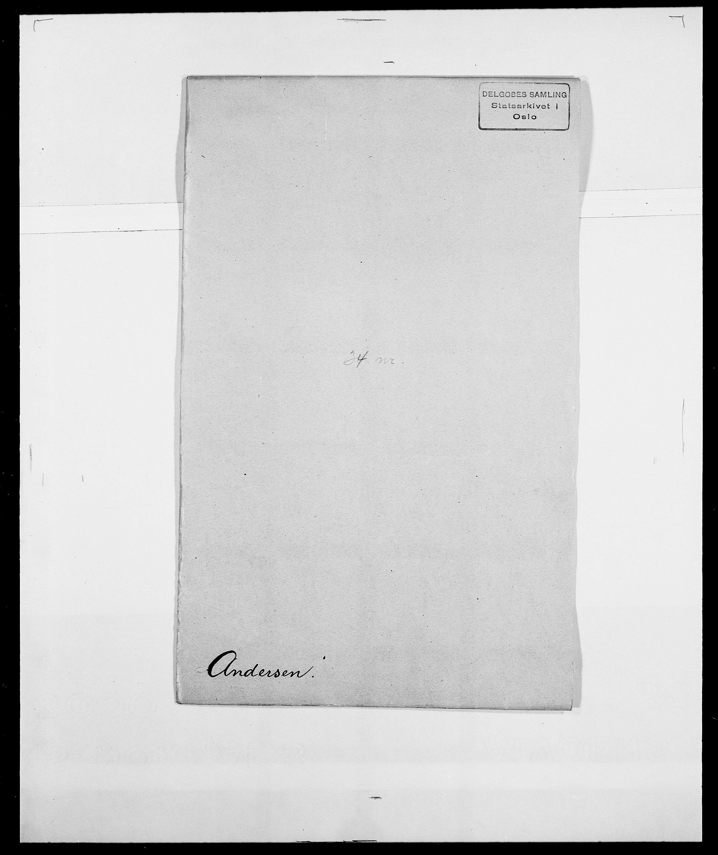 SAO, Delgobe, Charles Antoine - samling, D/Da/L0002: Anker, Ancher - Bauner, s. 31