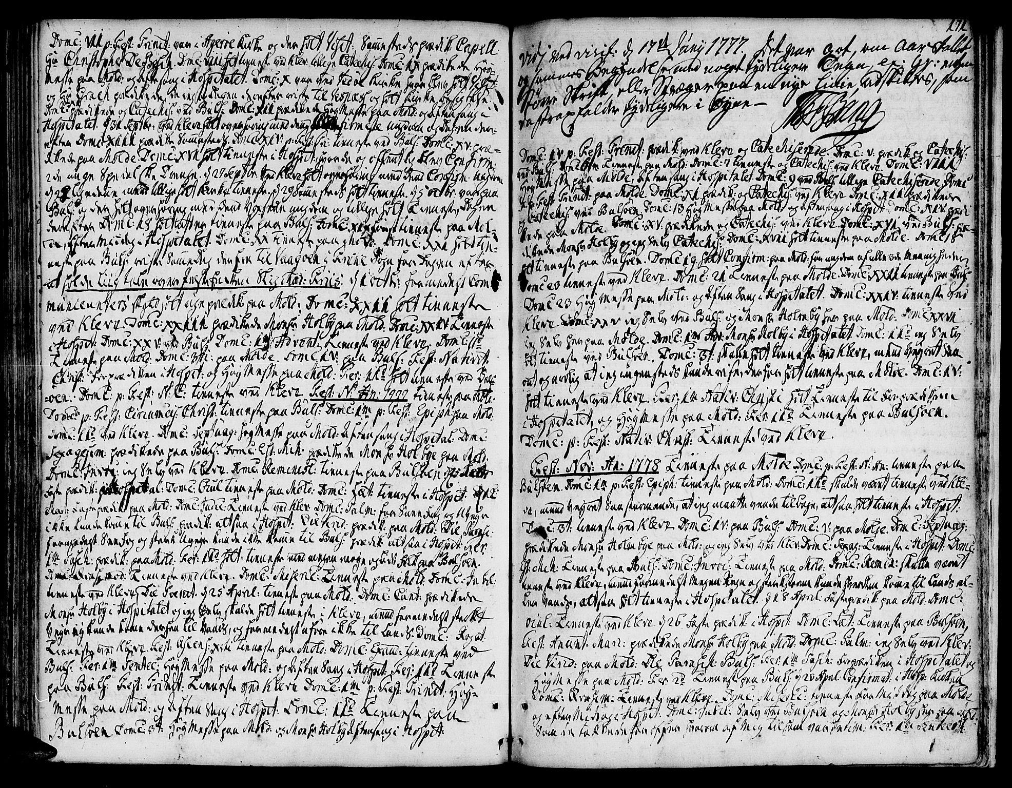 SAT, Ministerialprotokoller, klokkerbøker og fødselsregistre - Møre og Romsdal, 555/L0648: Ministerialbok nr. 555A01, 1759-1793, s. 171