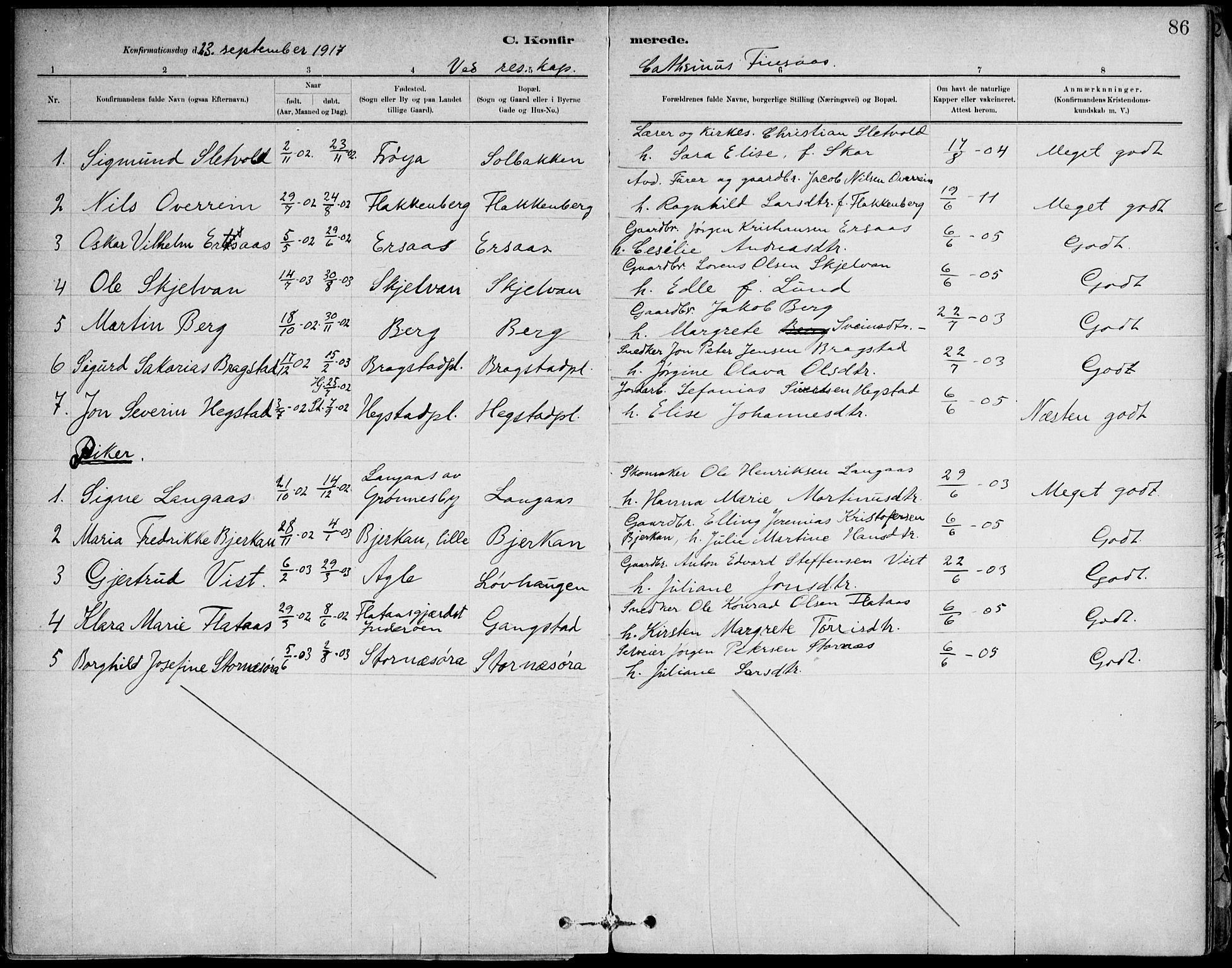 SAT, Ministerialprotokoller, klokkerbøker og fødselsregistre - Nord-Trøndelag, 732/L0316: Ministerialbok nr. 732A01, 1879-1921, s. 86