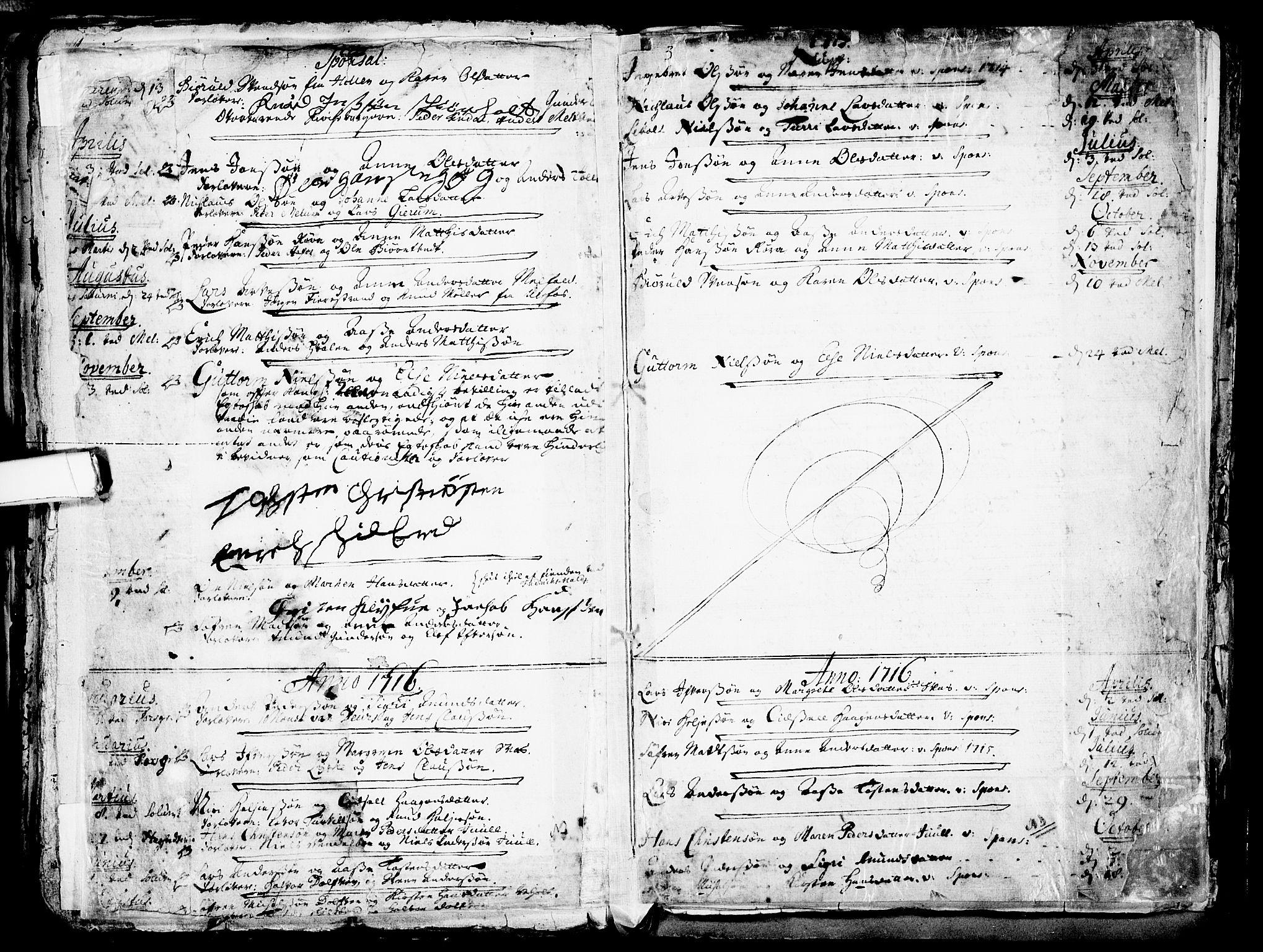 SAKO, Solum kirkebøker, F/Fa/L0002: Ministerialbok nr. I 2, 1713-1761, s. 177