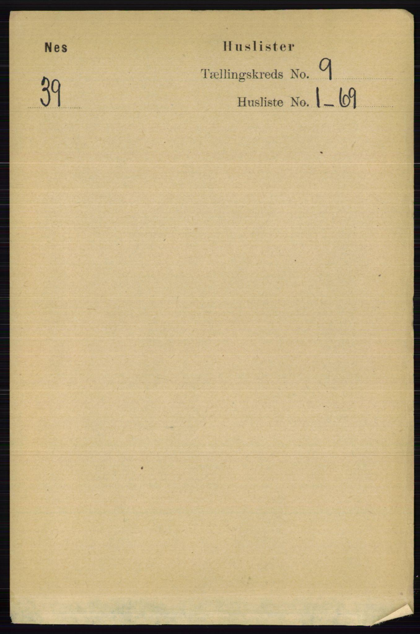 RA, Folketelling 1891 for 0236 Nes herred, 1891, s. 5186