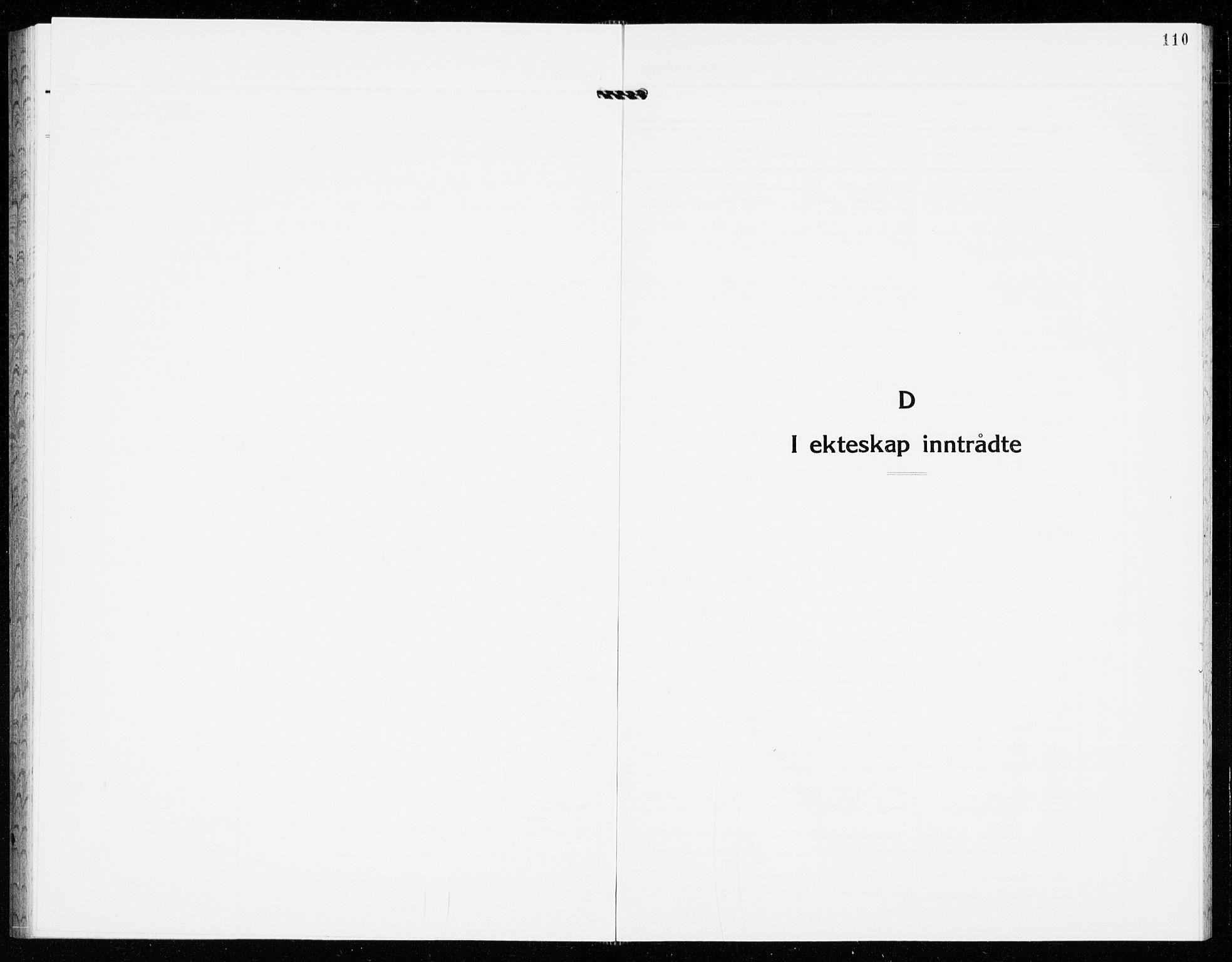SAKO, Gjerpen kirkebøker, G/Ga/L0005: Klokkerbok nr. I 5, 1932-1940, s. 110
