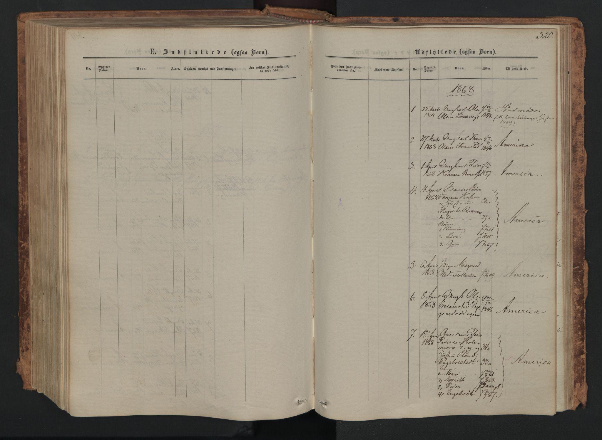 SAH, Skjåk prestekontor, Ministerialbok nr. 1, 1863-1879, s. 320