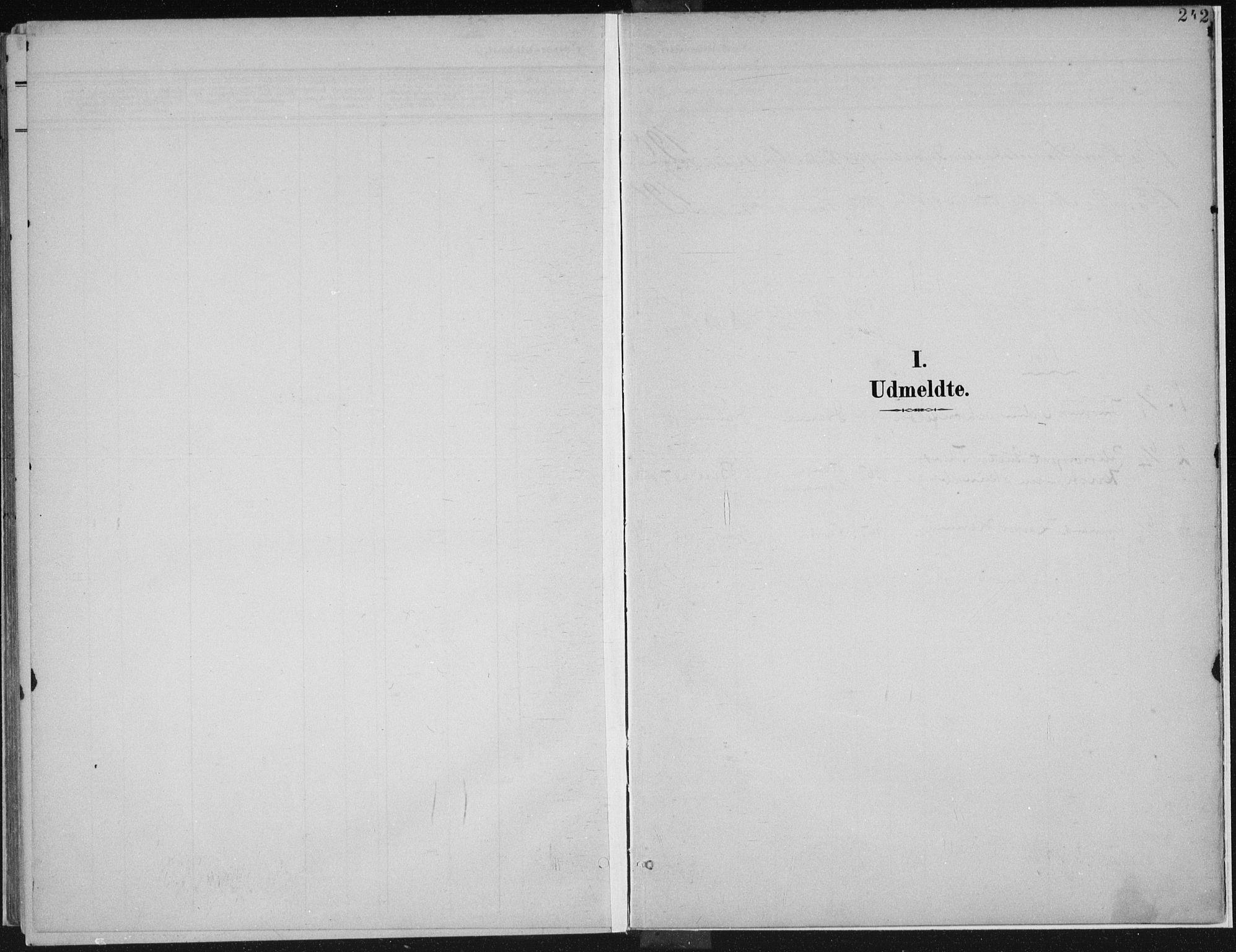 SAH, Vardal prestekontor, H/Ha/Haa/L0013: Ministerialbok nr. 13, 1901-1911, s. 242