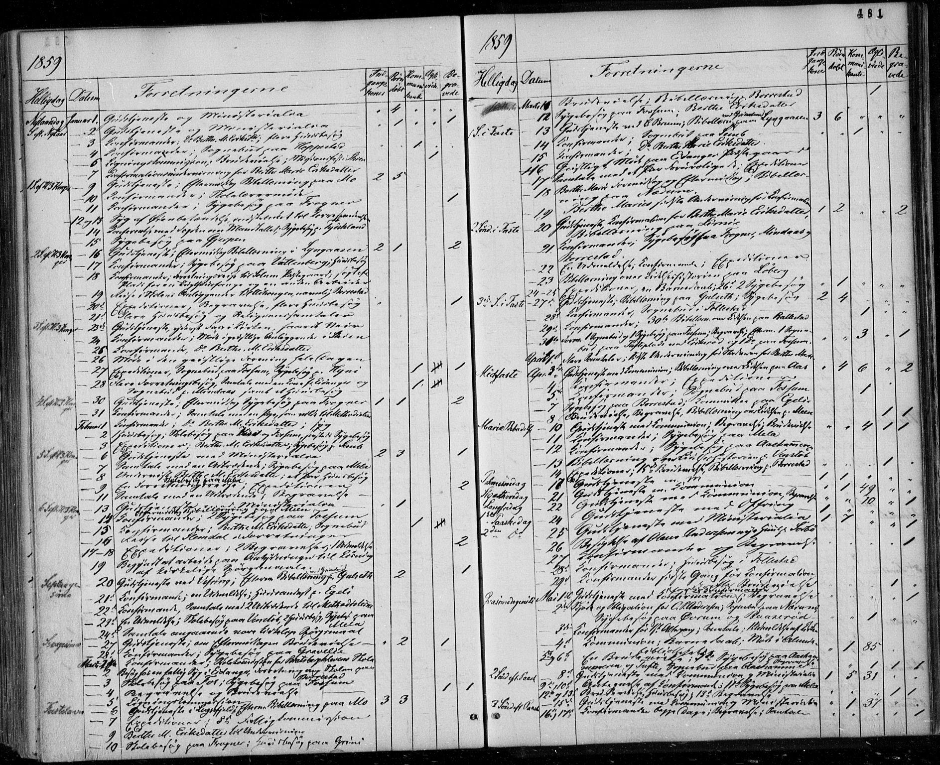 SAKO, Gjerpen kirkebøker, F/Fa/L0008b: Ministerialbok nr. 8B, 1857-1871, s. 481