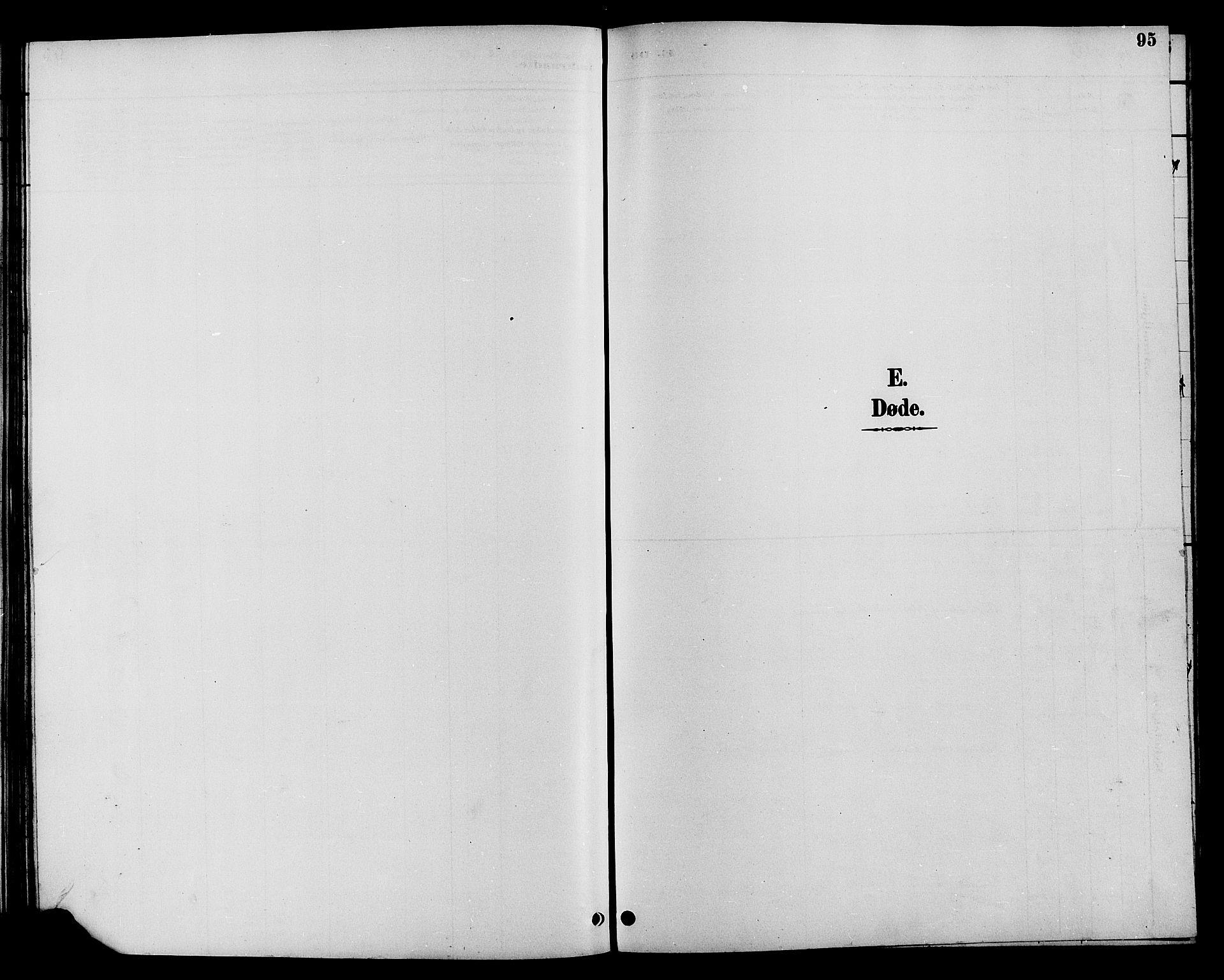 SAH, Øystre Slidre prestekontor, Klokkerbok nr. 4, 1887-1907, s. 95