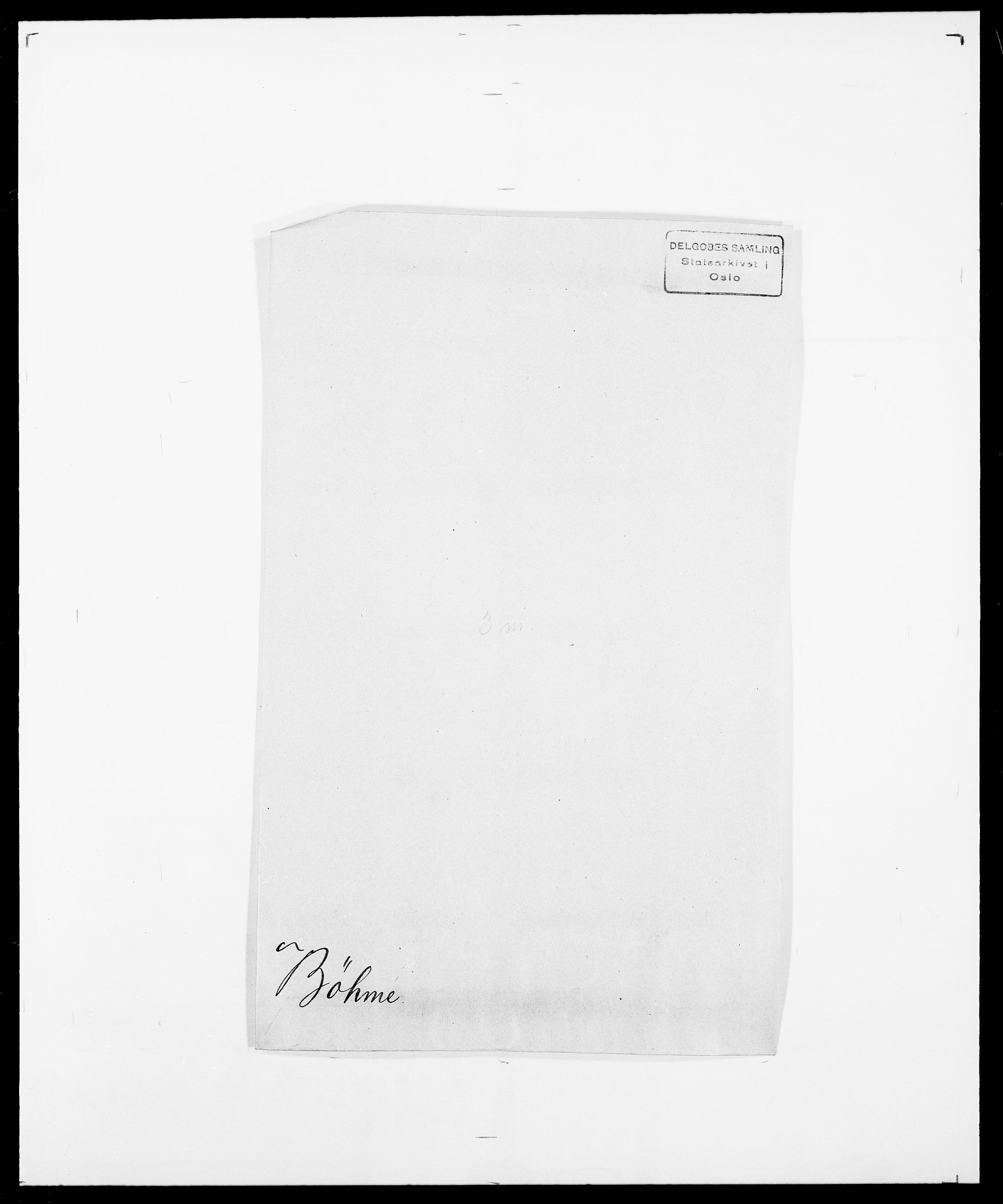 SAO, Delgobe, Charles Antoine - samling, D/Da/L0007: Buaas - Caphengst, s. 723