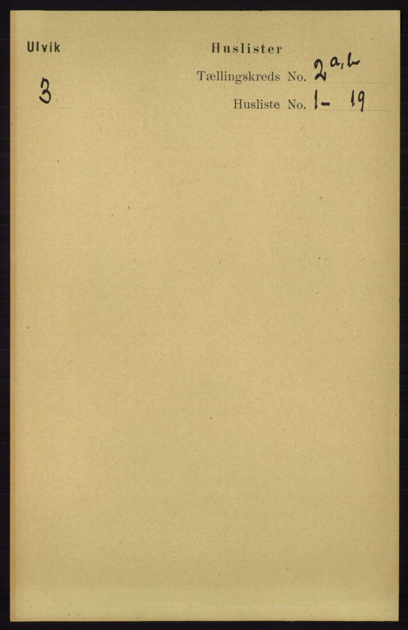 RA, Folketelling 1891 for 1233 Ulvik herred, 1891, s. 213