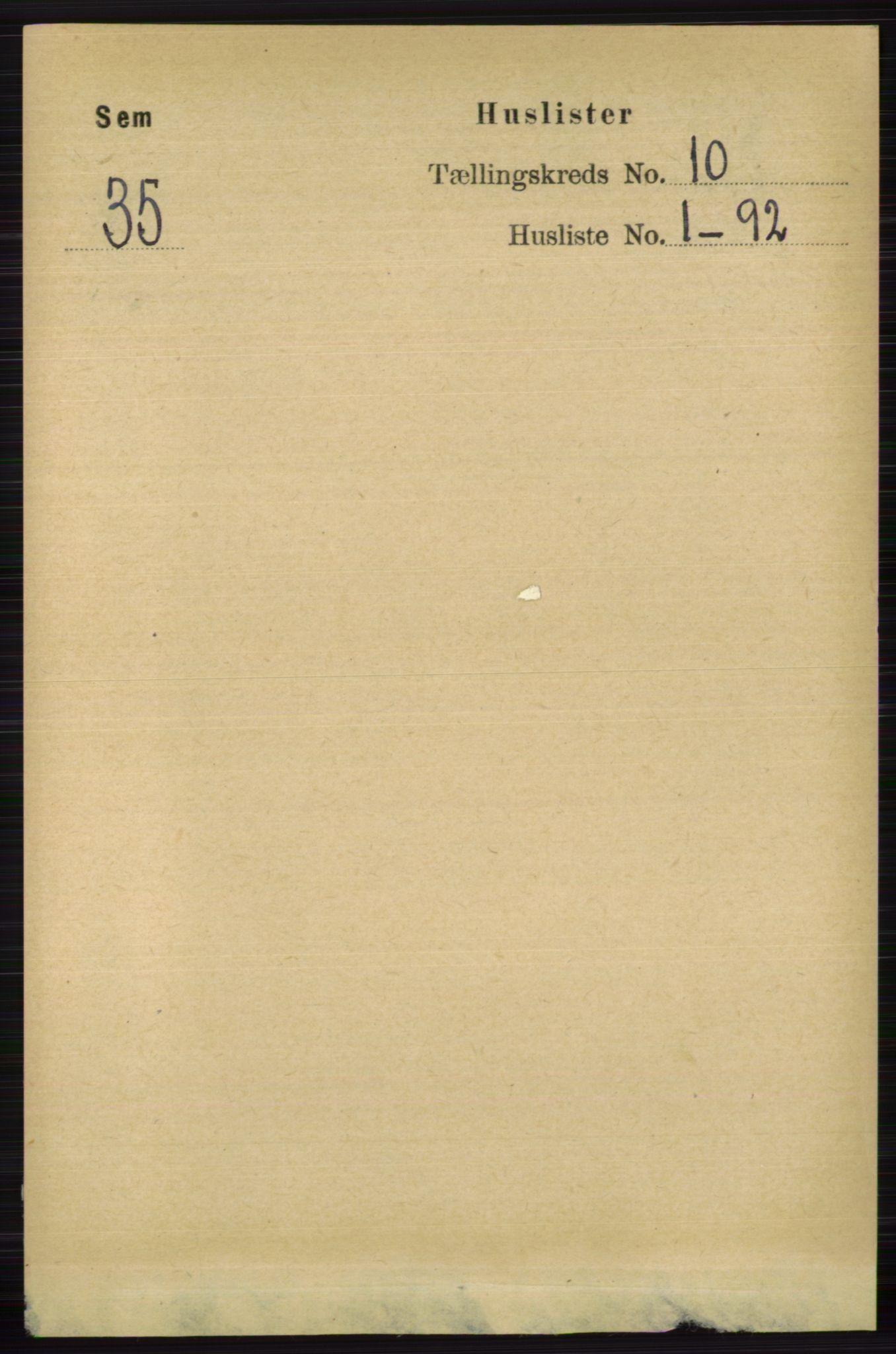 RA, Folketelling 1891 for 0721 Sem herred, 1891, s. 4701