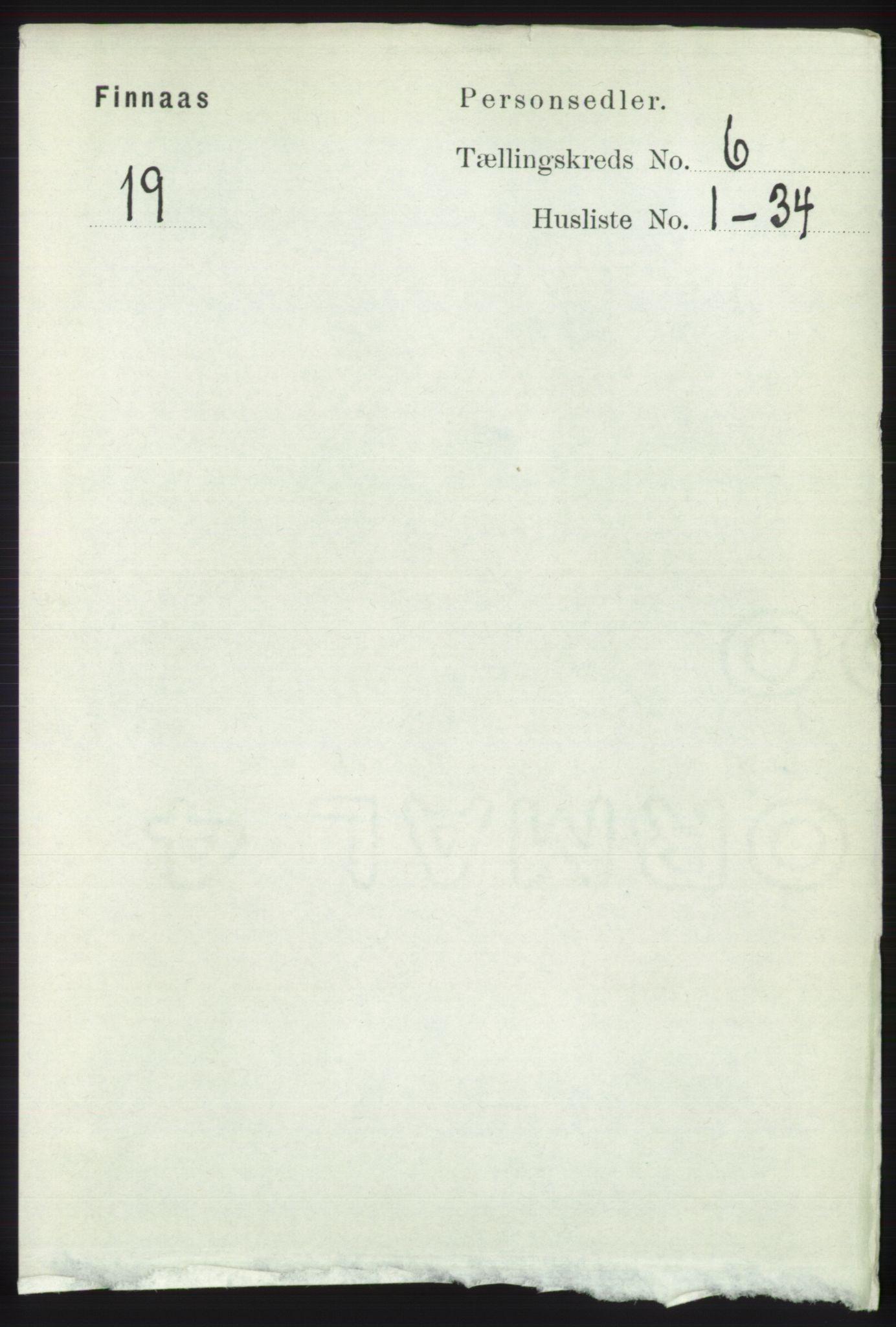 RA, Folketelling 1891 for 1218 Finnås herred, 1891, s. 2348