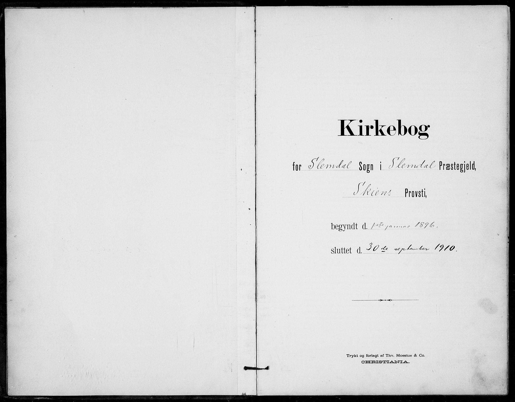 SAKO, Siljan kirkebøker, F/Fa/L0003: Ministerialbok nr. 3, 1896-1910