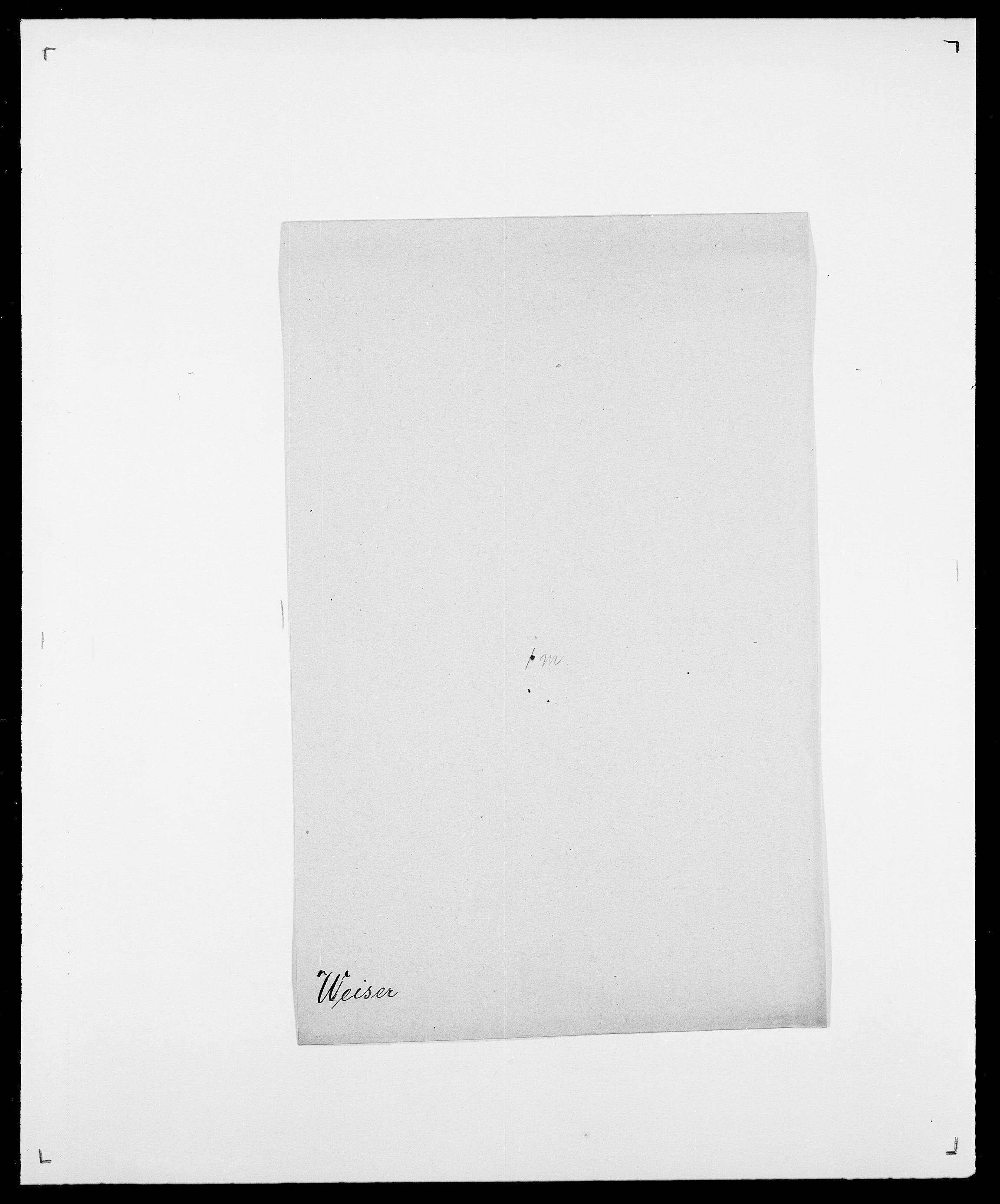 SAO, Delgobe, Charles Antoine - samling, D/Da/L0040: Usgaard - Velund, s. 614