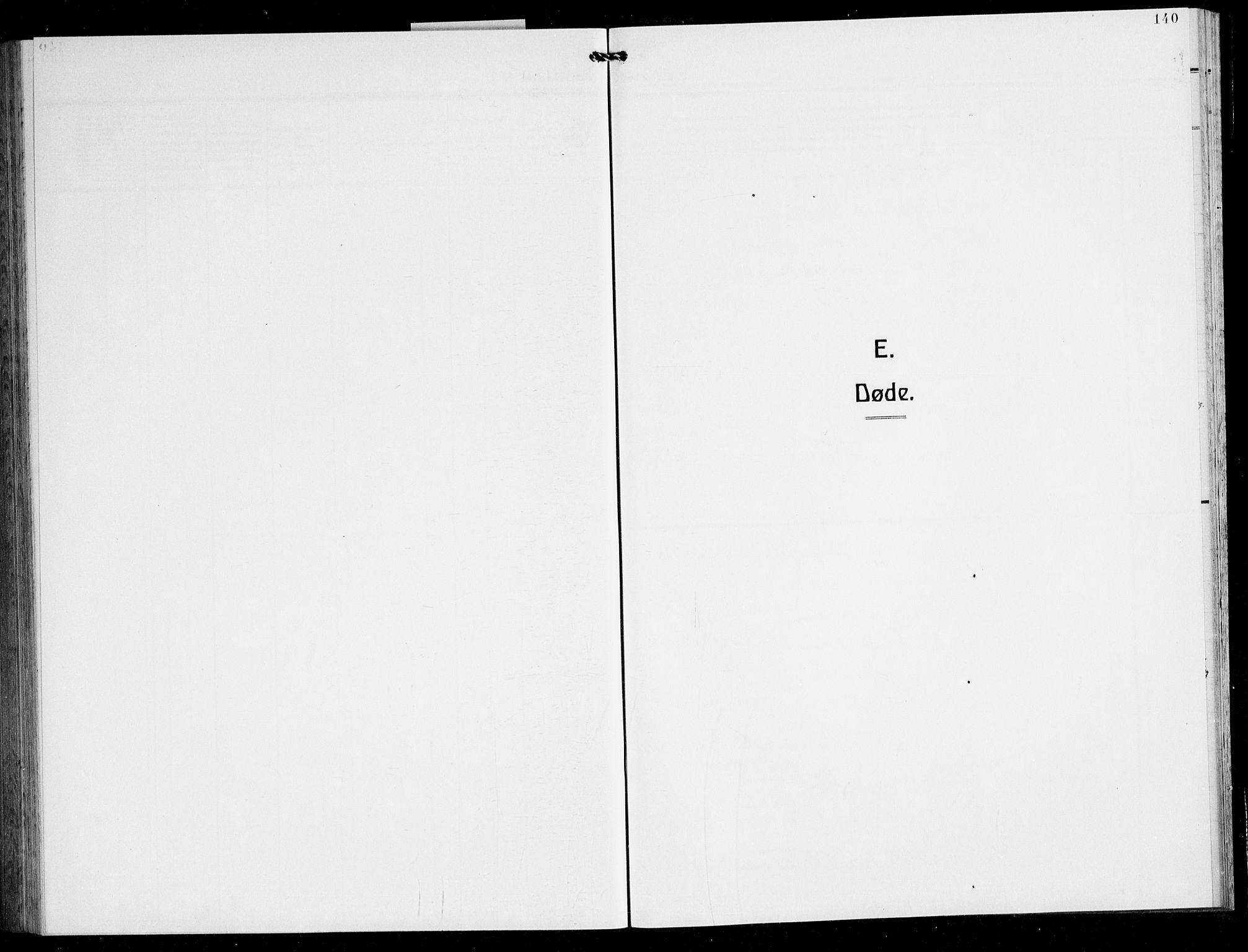 SAB, Finnås sokneprestembete, H/Ha/Hab/Haba/L0005: Klokkerbok nr. A 5, 1924-1945, s. 140