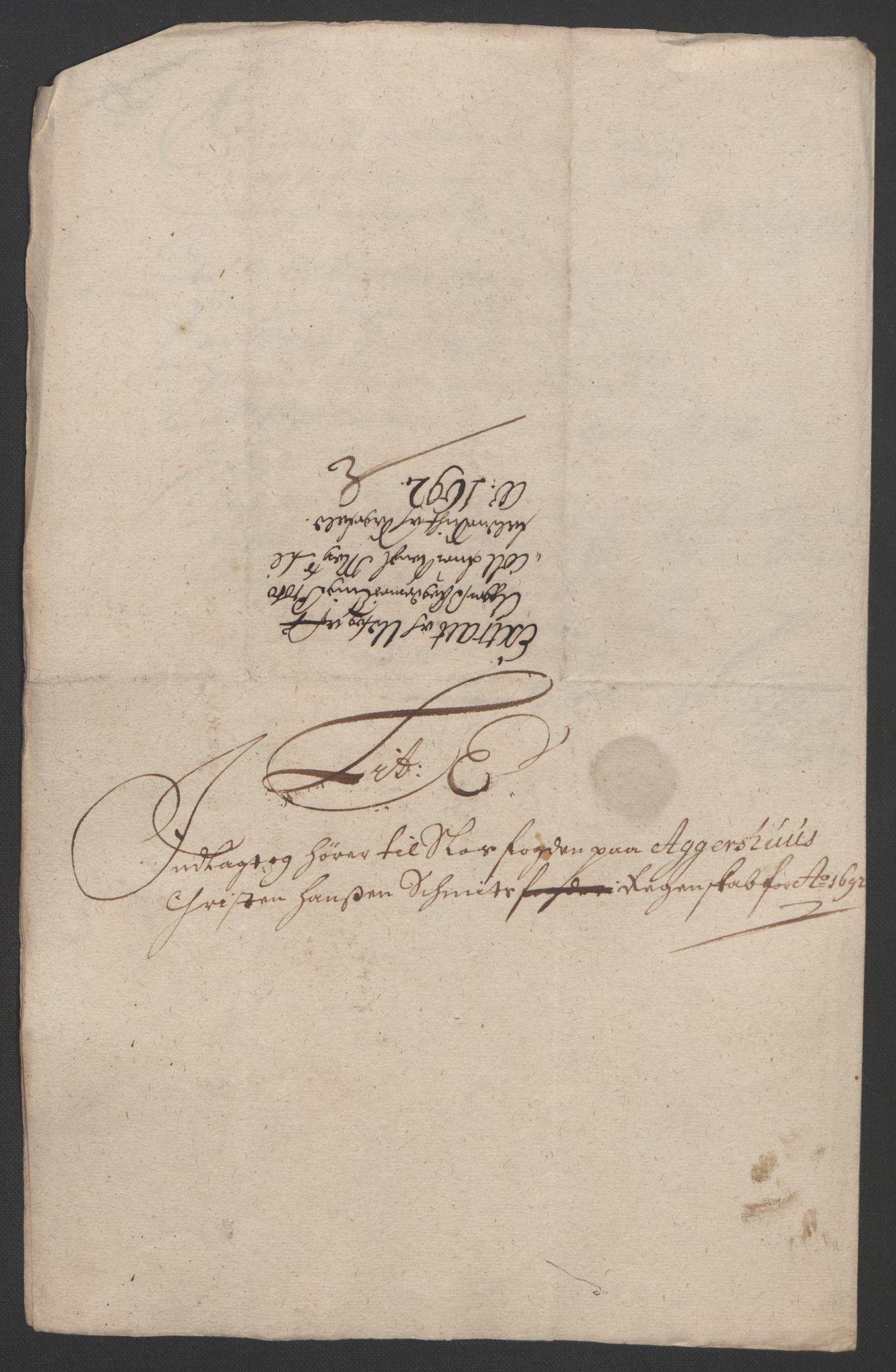 RA, Rentekammeret inntil 1814, Reviderte regnskaper, Fogderegnskap, R08/L0426: Fogderegnskap Aker, 1692-1693, s. 85