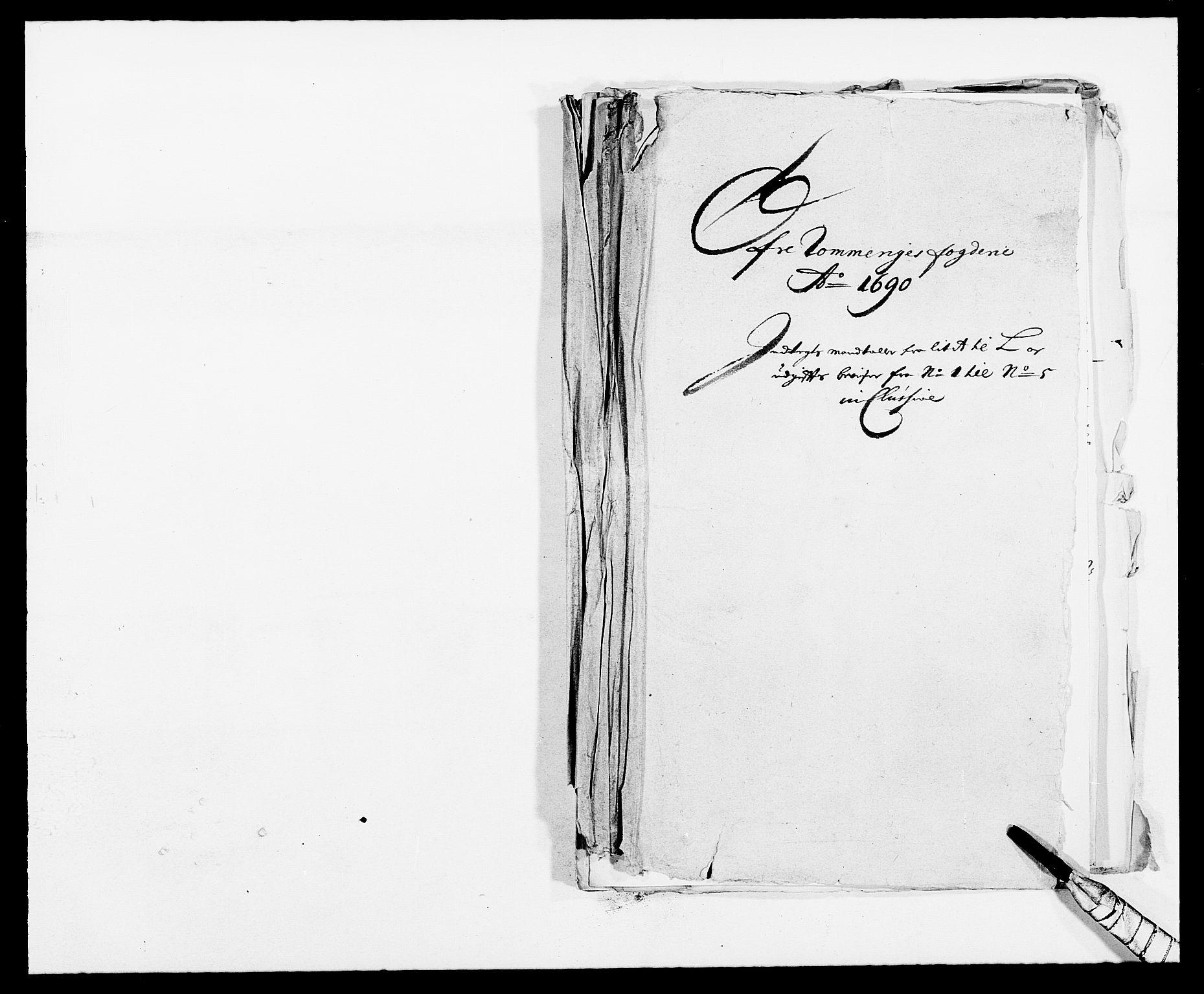 RA, Rentekammeret inntil 1814, Reviderte regnskaper, Fogderegnskap, R12/L0702: Fogderegnskap Øvre Romerike, 1690, s. 222