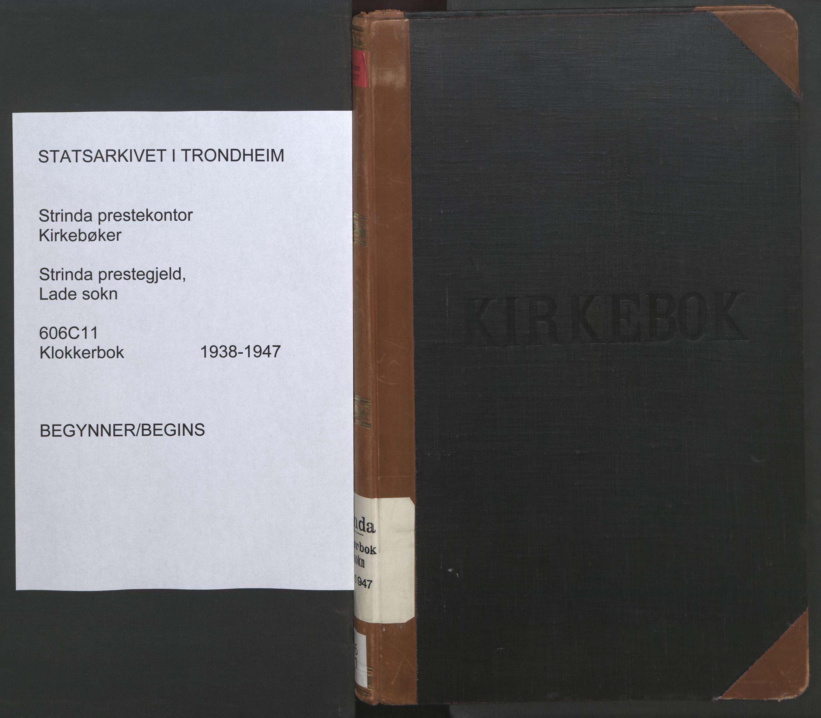 SAT, Ministerialprotokoller, klokkerbøker og fødselsregistre - Sør-Trøndelag, 606/L0315: Klokkerbok nr. 606C11, 1938-1947
