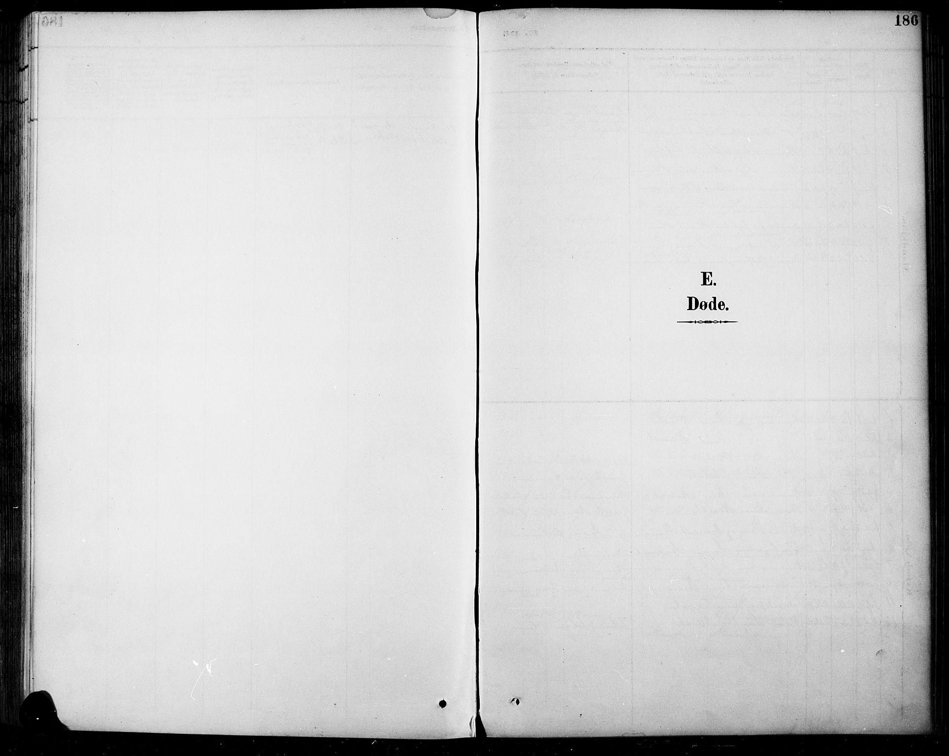 SAH, Sel prestekontor, Klokkerbok nr. 5, 1894-1923, s. 186