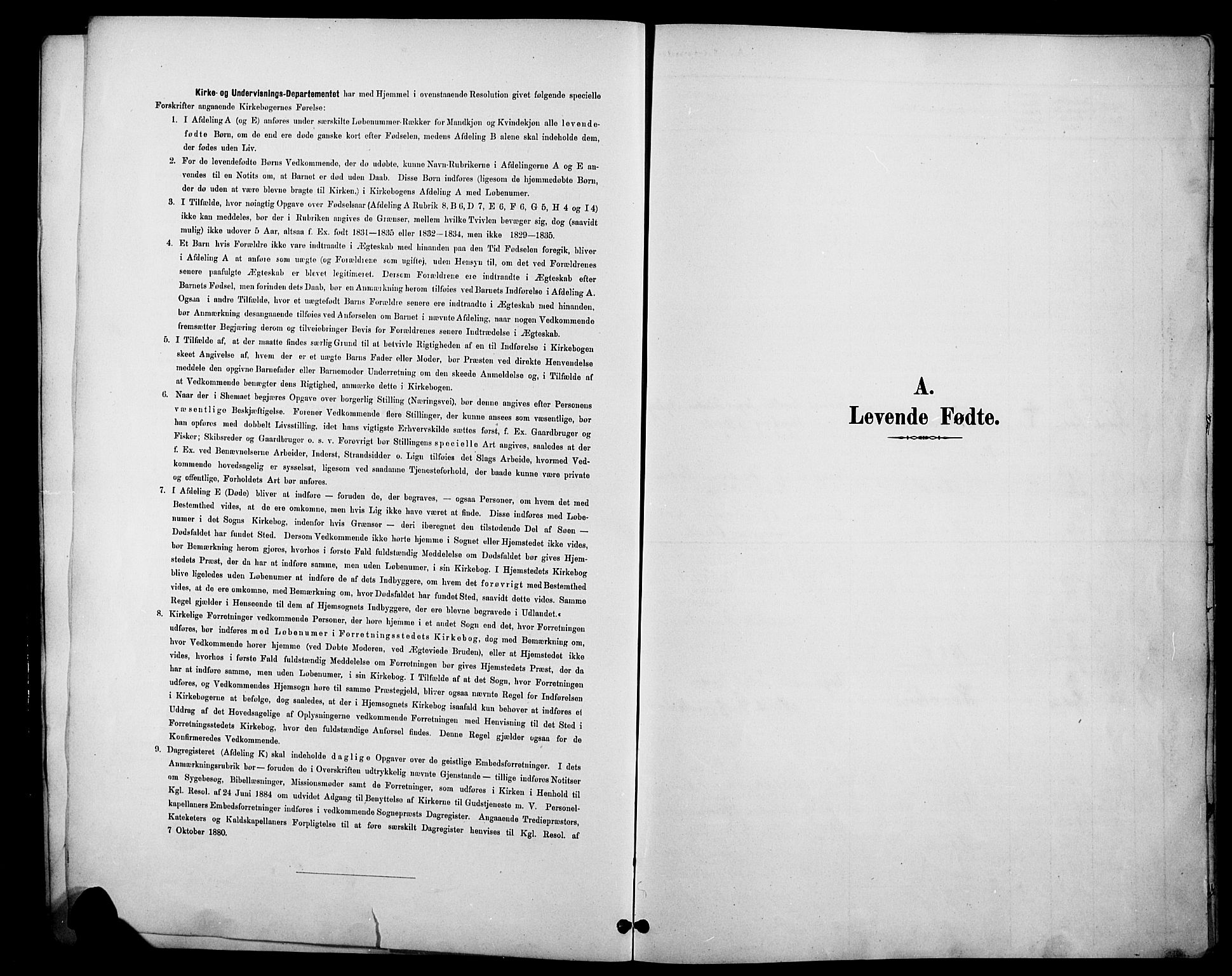 SAH, Øystre Slidre prestekontor, Klokkerbok nr. 6, 1887-1916
