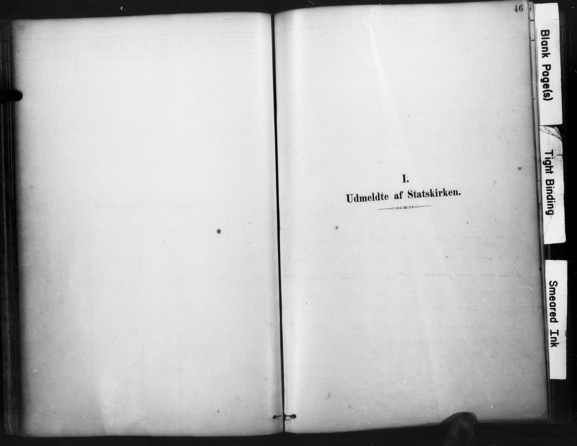 SAK, Mandal sokneprestkontor, F/Fa/Faa/L0017: Ministerialbok nr. A 17, 1880-1926, s. 46