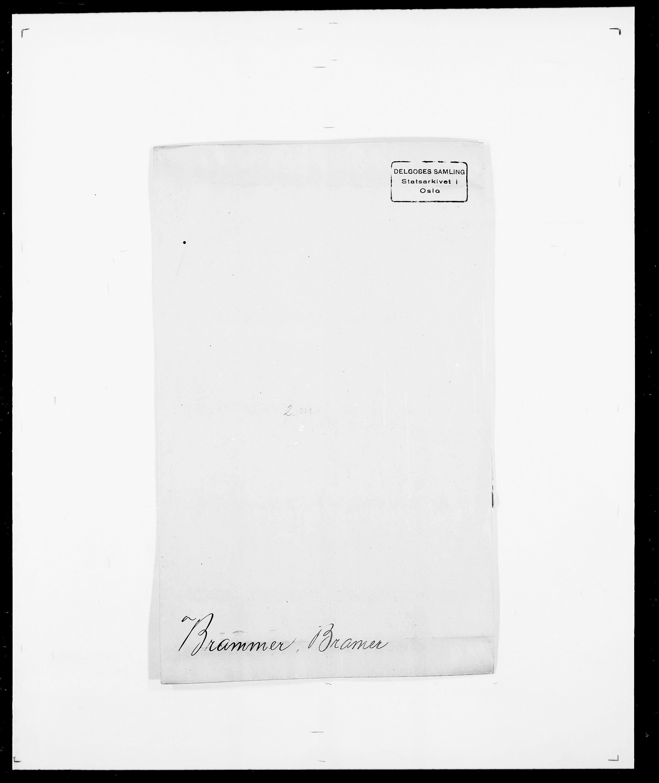 SAO, Delgobe, Charles Antoine - samling, D/Da/L0006: Brambani - Brønø, s. 3