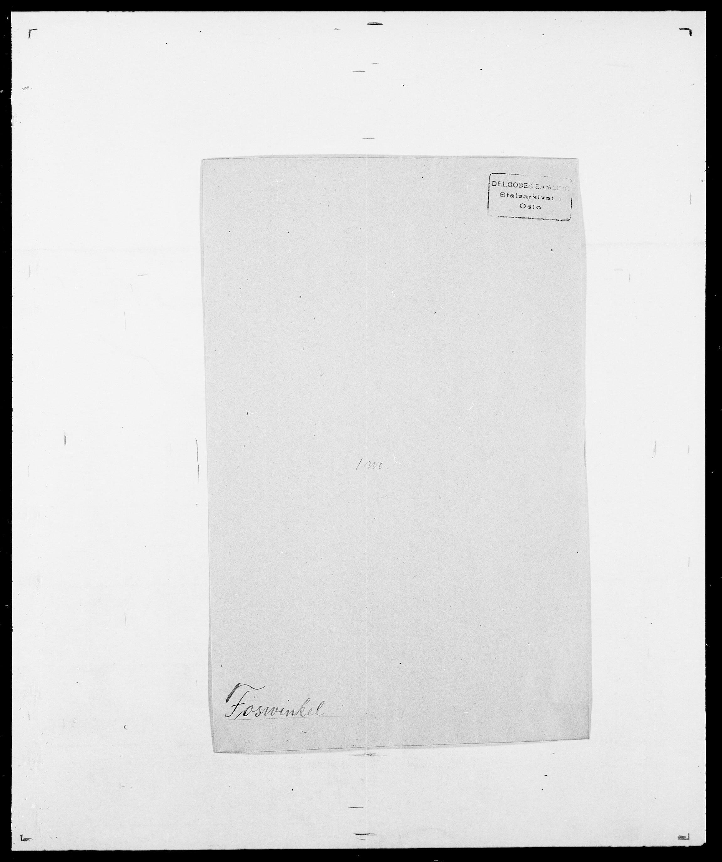 SAO, Delgobe, Charles Antoine - samling, D/Da/L0012: Flor, Floer, Flohr - Fritzner, s. 670