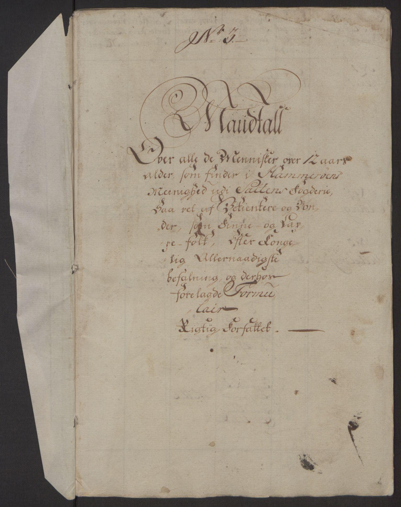 RA, Rentekammeret inntil 1814, Realistisk ordnet avdeling, Ol/L0022a: [Gg 10]: Ekstraskatten, 23.09.1762. Nordlands amt, 1762-1763, s. 41