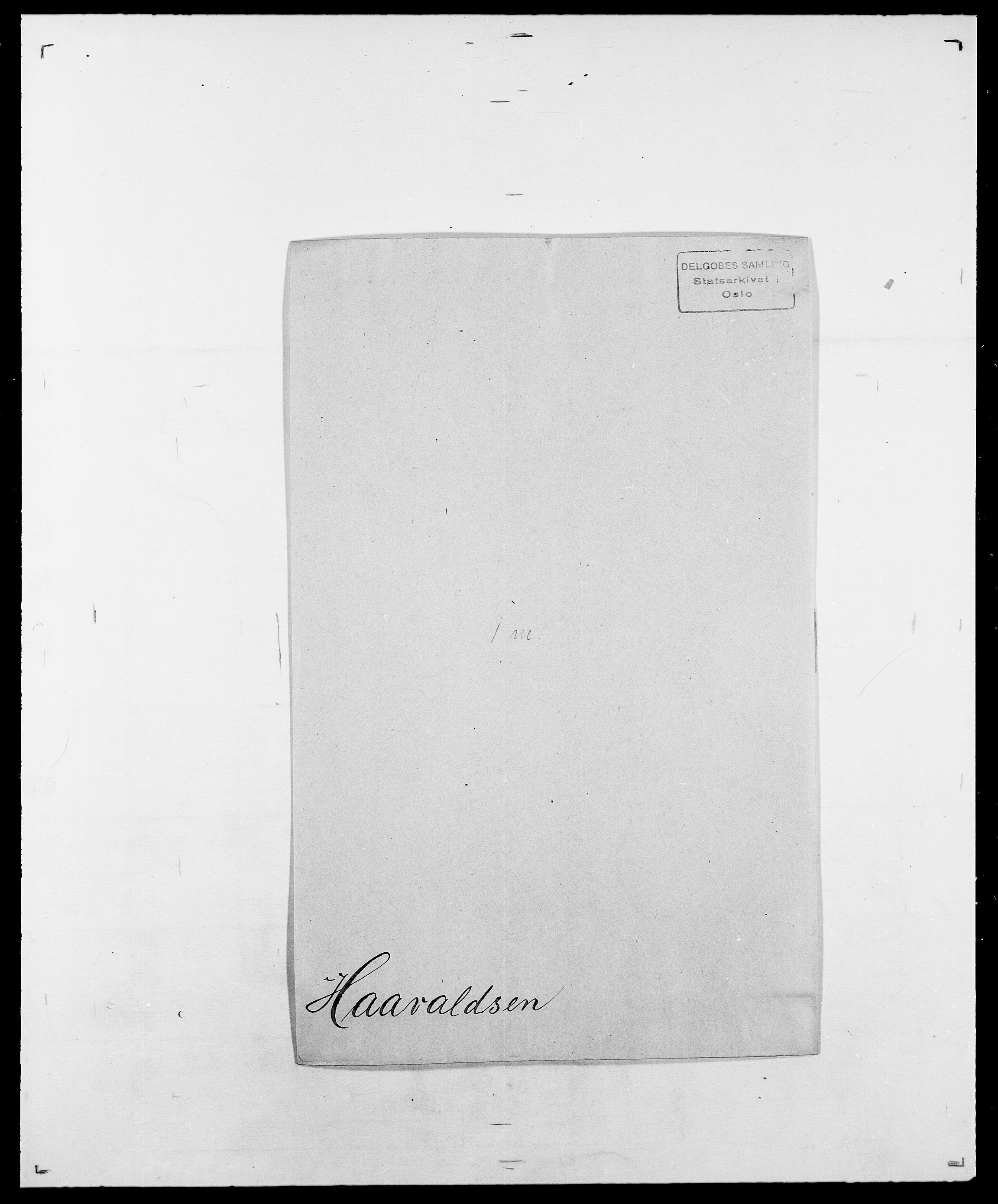 SAO, Delgobe, Charles Antoine - samling, D/Da/L0015: Grodtshilling - Halvorsæth, s. 621