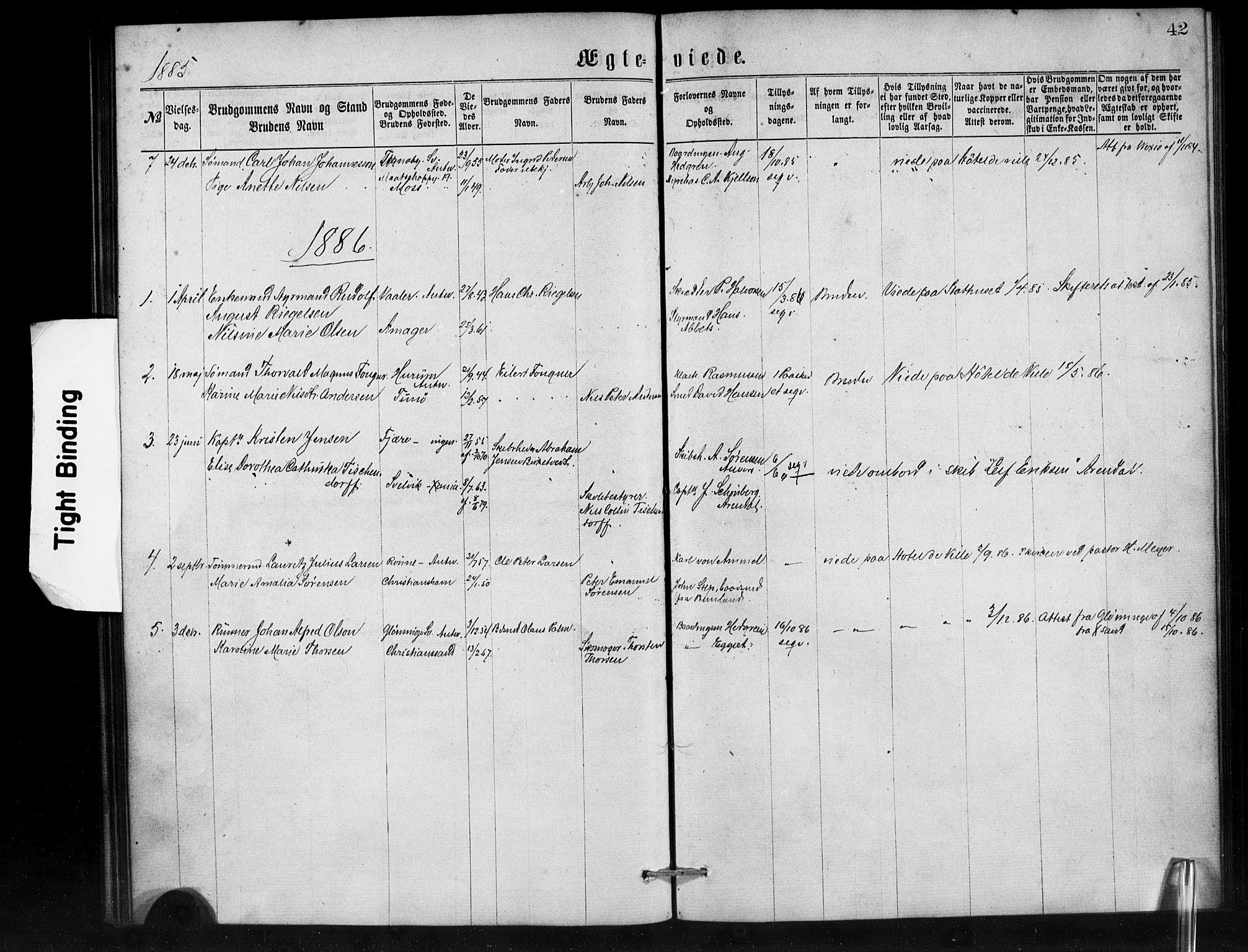 SAB, Den Norske Sjømannsmisjon i utlandet*, Ministerialbok nr. A 1, 1865-1887, s. 42