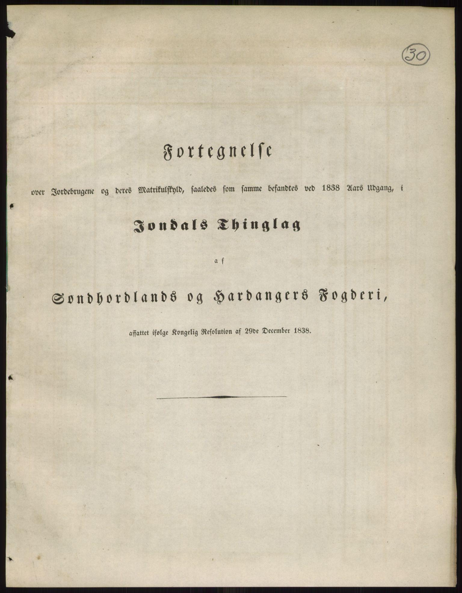RA, 1838-matrikkelen (publikasjon)*, 1838, s. 30