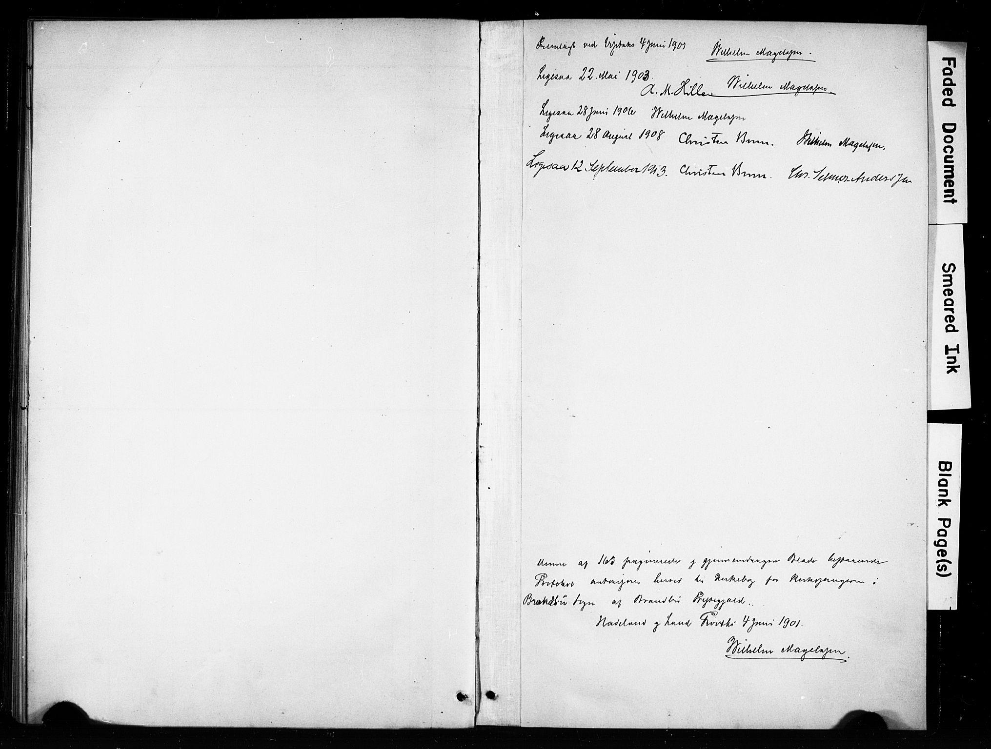 SAH, Brandbu prestekontor, Klokkerbok nr. 5, 1900-1913, s. 162