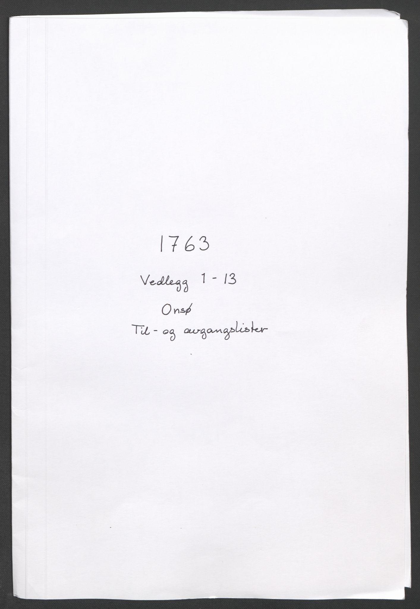 RA, Rentekammeret inntil 1814, Reviderte regnskaper, Fogderegnskap, R04/L0261: Ekstraskatten Moss, Onsøy, Tune, Veme og Åbygge, 1763, s. 24