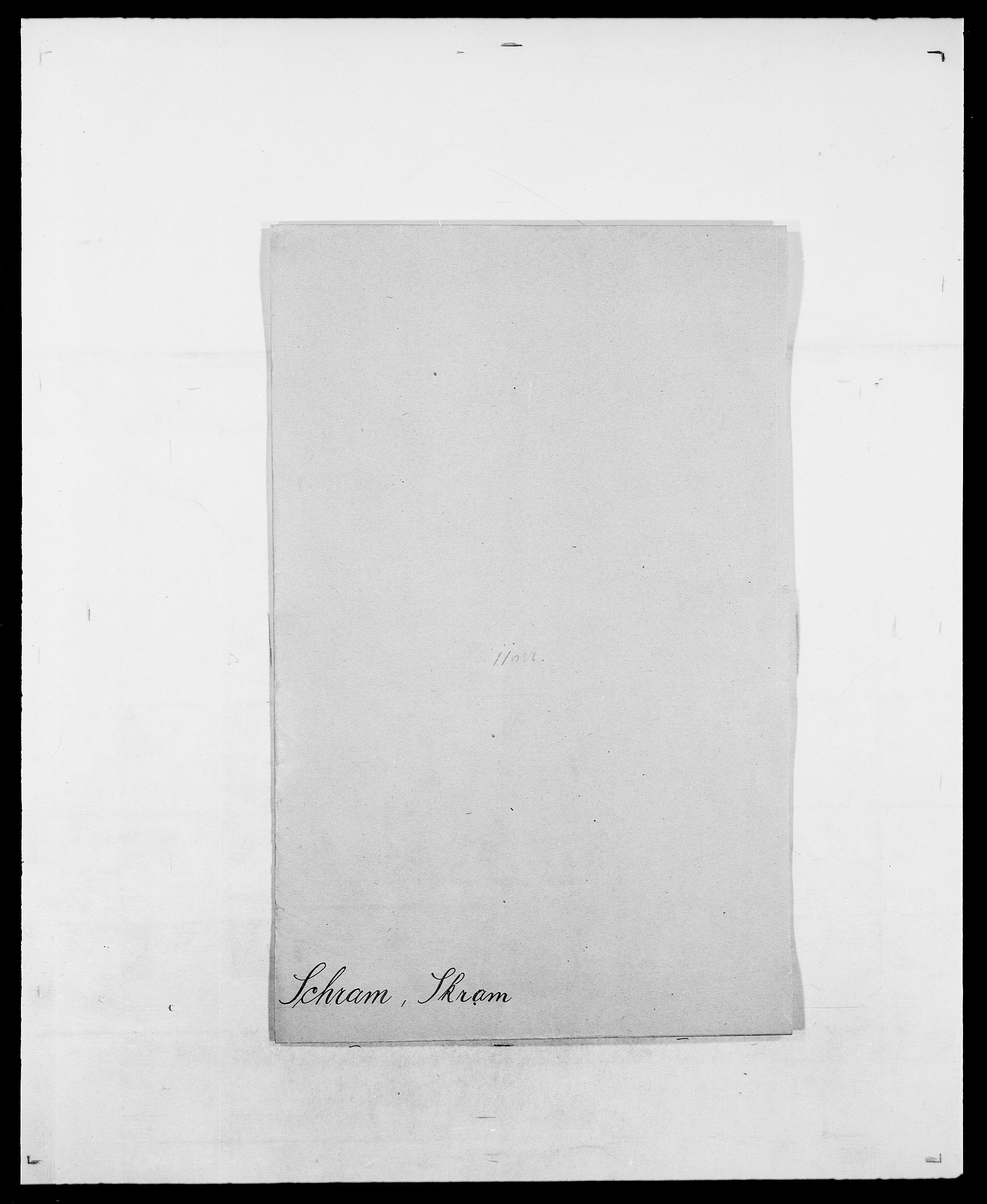 SAO, Delgobe, Charles Antoine - samling, D/Da/L0035: Schnabel - sjetman, s. 120