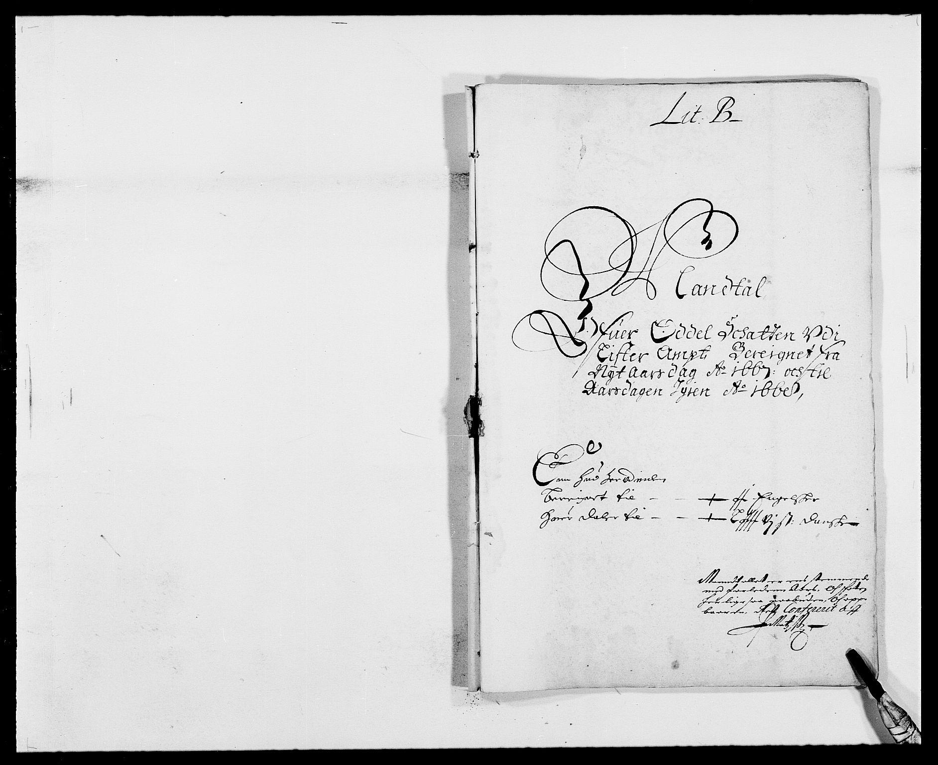 RA, Rentekammeret inntil 1814, Reviderte regnskaper, Fogderegnskap, R41/L2524: Fogderegnskap Lista, 1665-1668, s. 302