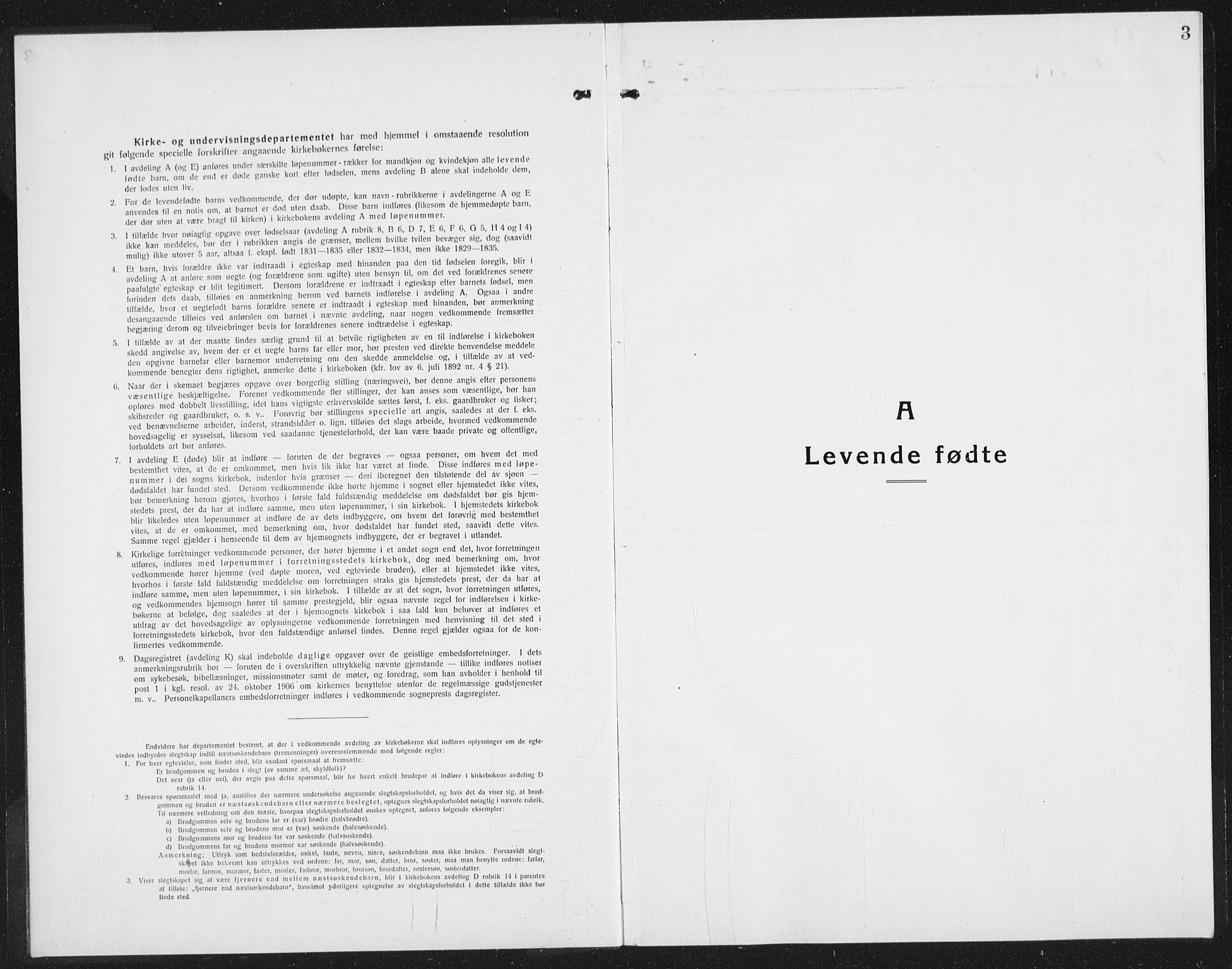 SAST, Kopervik sokneprestkontor, H/Ha/Hab/L0007: Klokkerbok nr. B 7, 1918-1942, s. 3