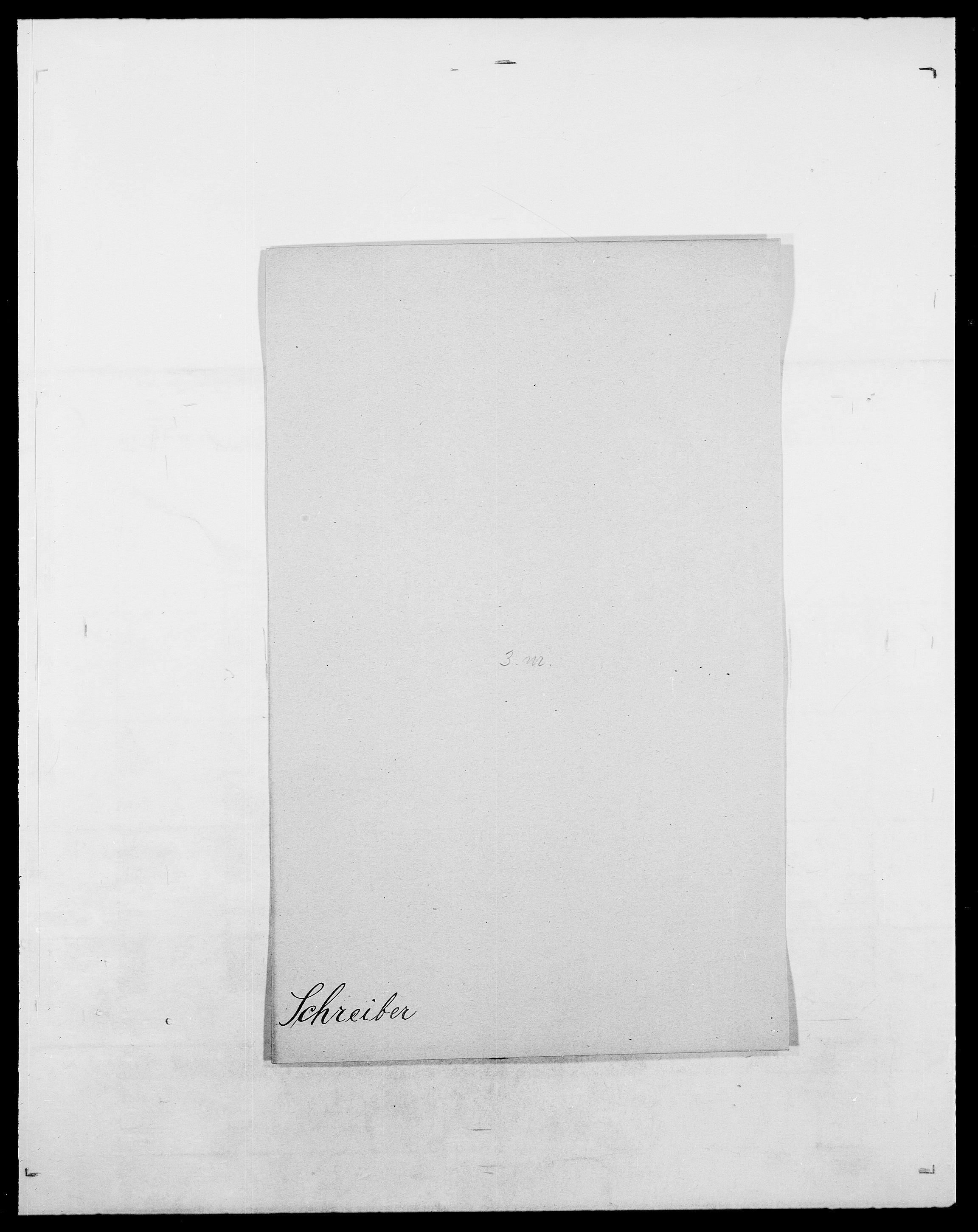 SAO, Delgobe, Charles Antoine - samling, D/Da/L0035: Schnabel - sjetman, s. 142