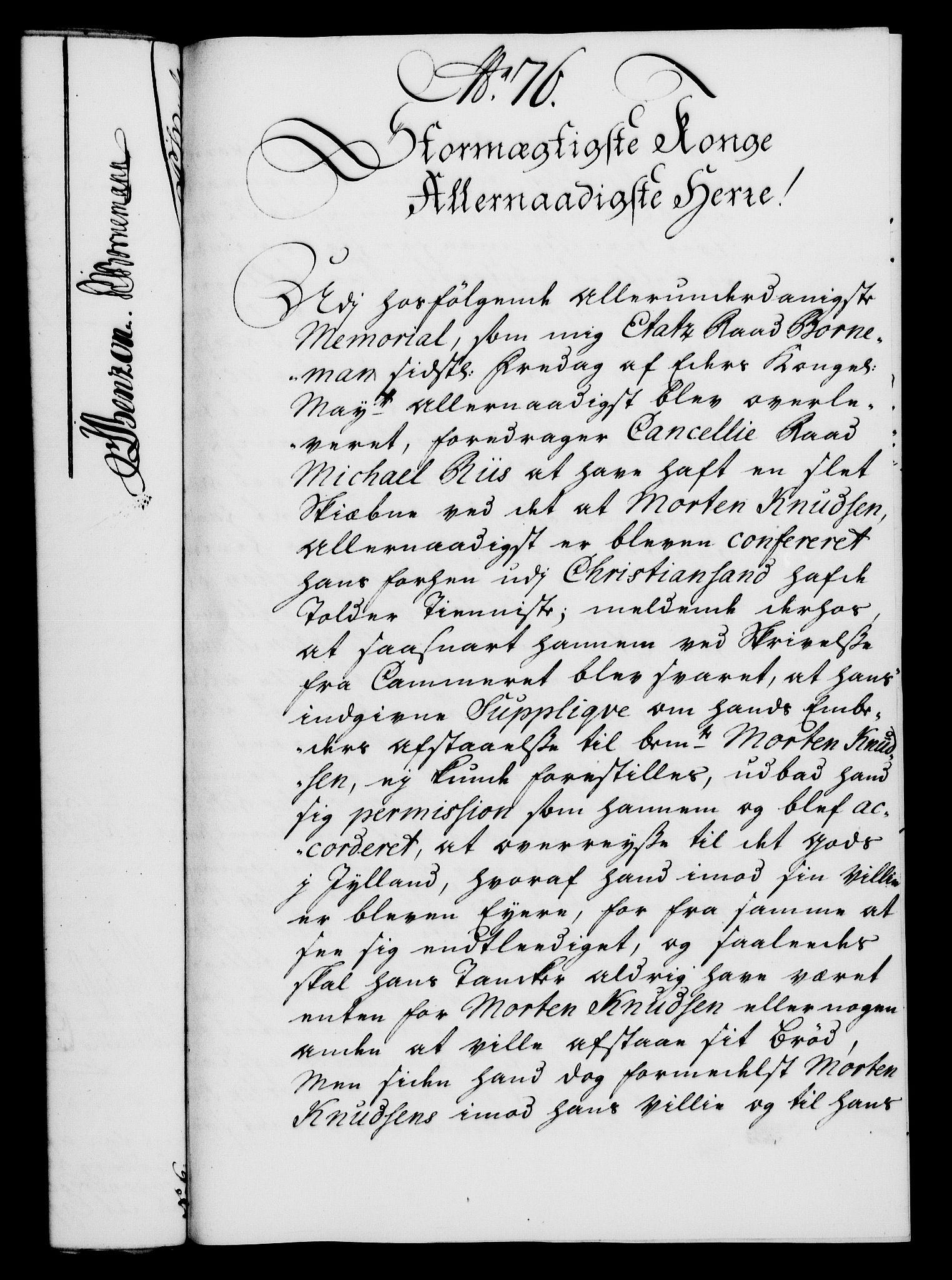 RA, Rentekammeret, Kammerkanselliet, G/Gf/Gfa/L0022: Norsk relasjons- og resolusjonsprotokoll (merket RK 52.22), 1739, s. 588