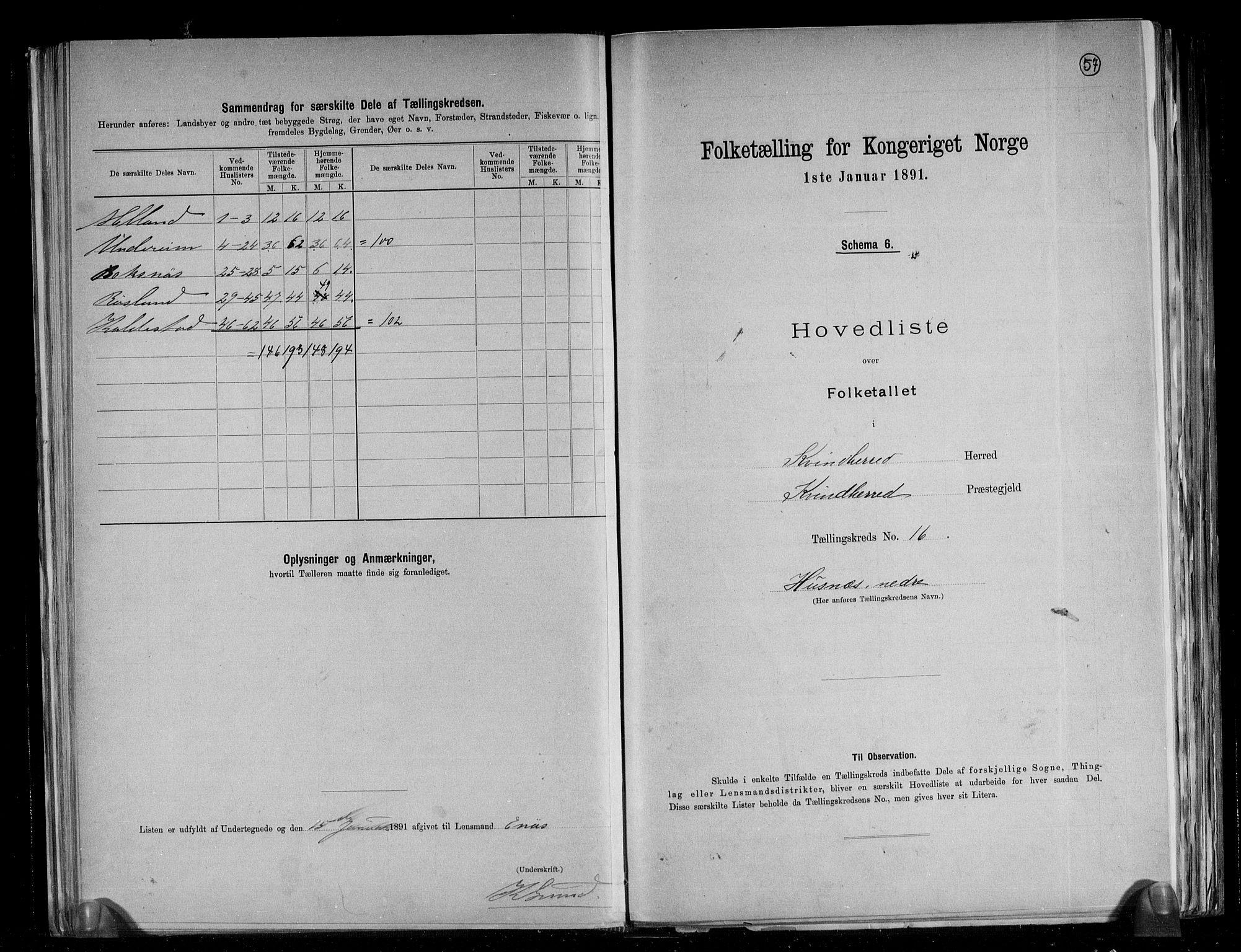 RA, Folketelling 1891 for 1224 Kvinnherad herred, 1891, s. 38