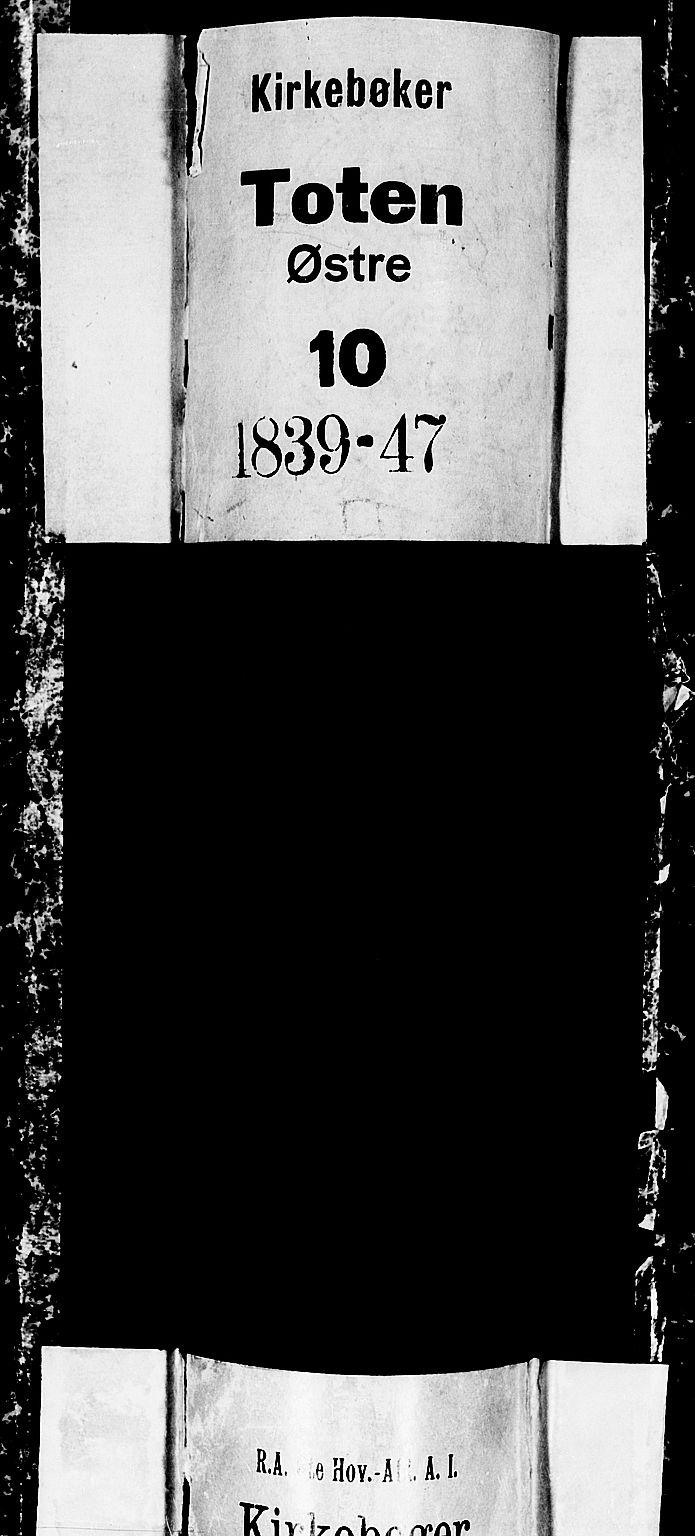 SAH, Østre Toten prestekontor, Klokkerbok nr. 2, 1840-1847