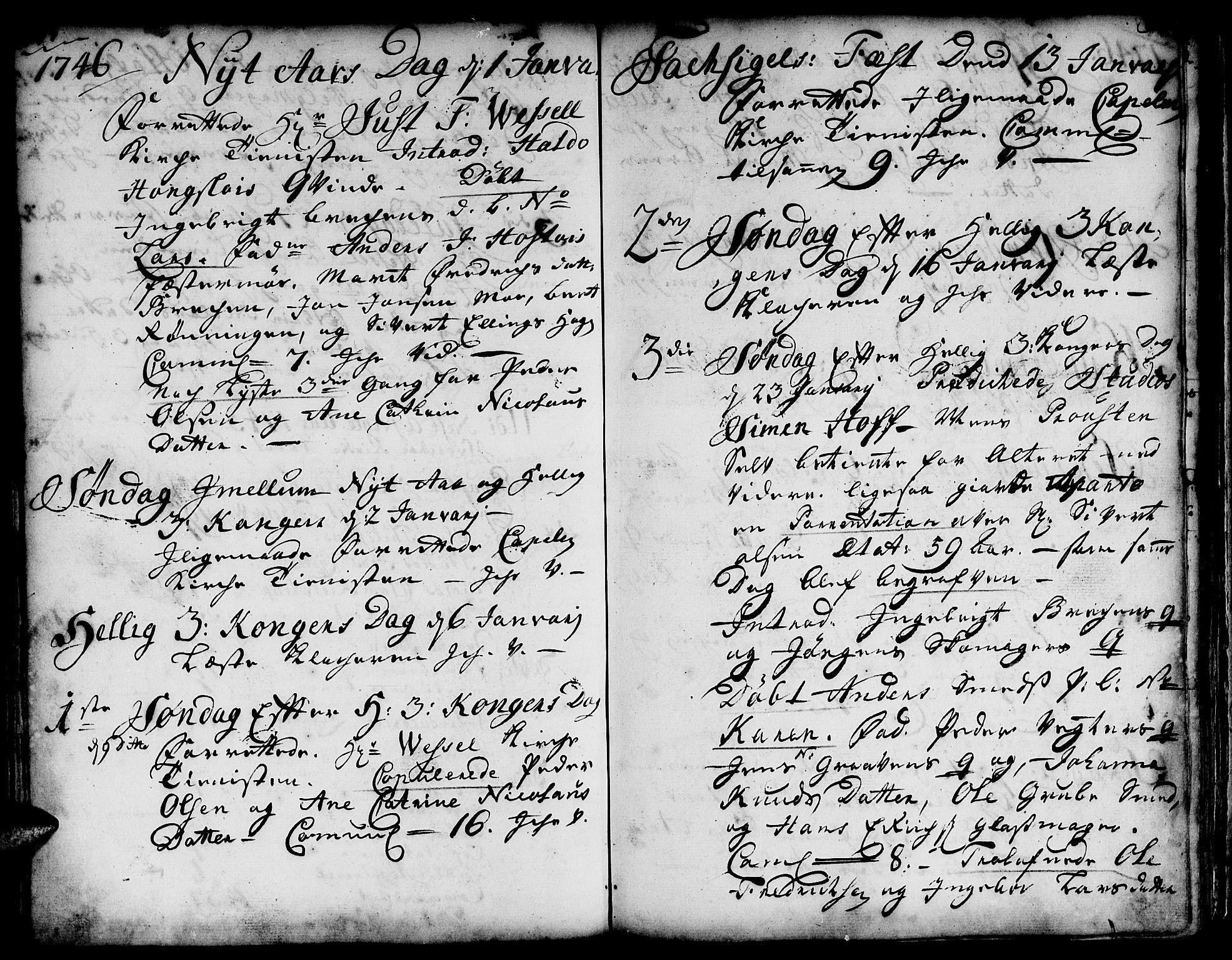 SAT, Ministerialprotokoller, klokkerbøker og fødselsregistre - Sør-Trøndelag, 671/L0839: Ministerialbok nr. 671A01, 1730-1755, s. 314-315