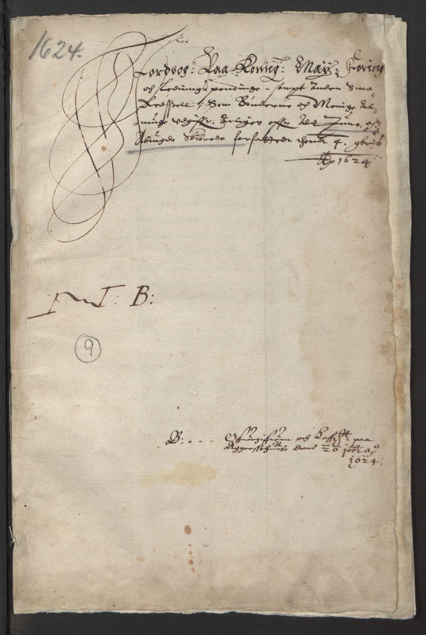 RA, Stattholderembetet 1572-1771, Ek/L0001: Jordebøker før 1624 og til utligning av garnisonsskatt 1624-1626:, 1624-1625, s. 204