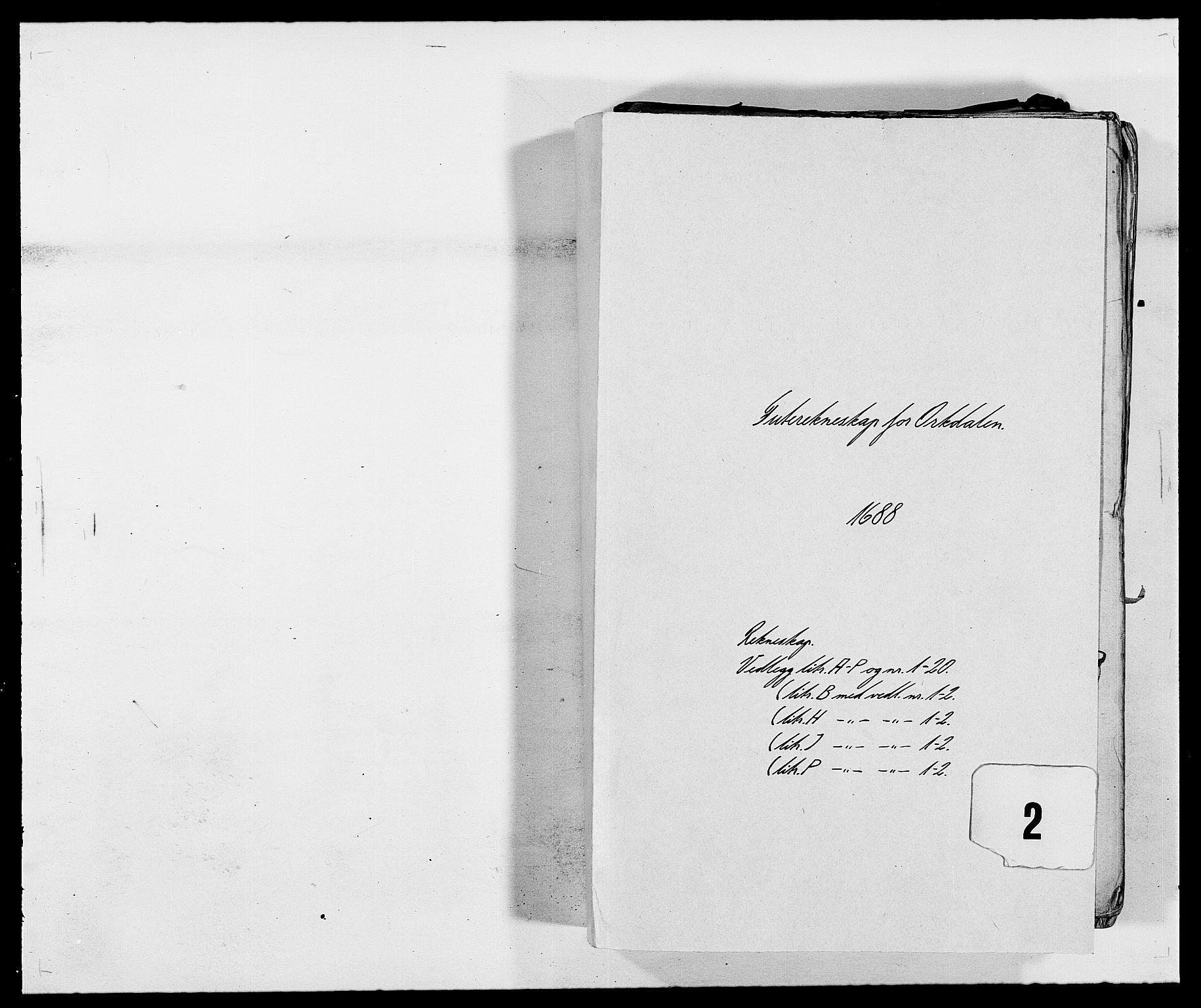RA, Rentekammeret inntil 1814, Reviderte regnskaper, Fogderegnskap, R58/L3935: Fogderegnskap Orkdal, 1687-1688, s. 193