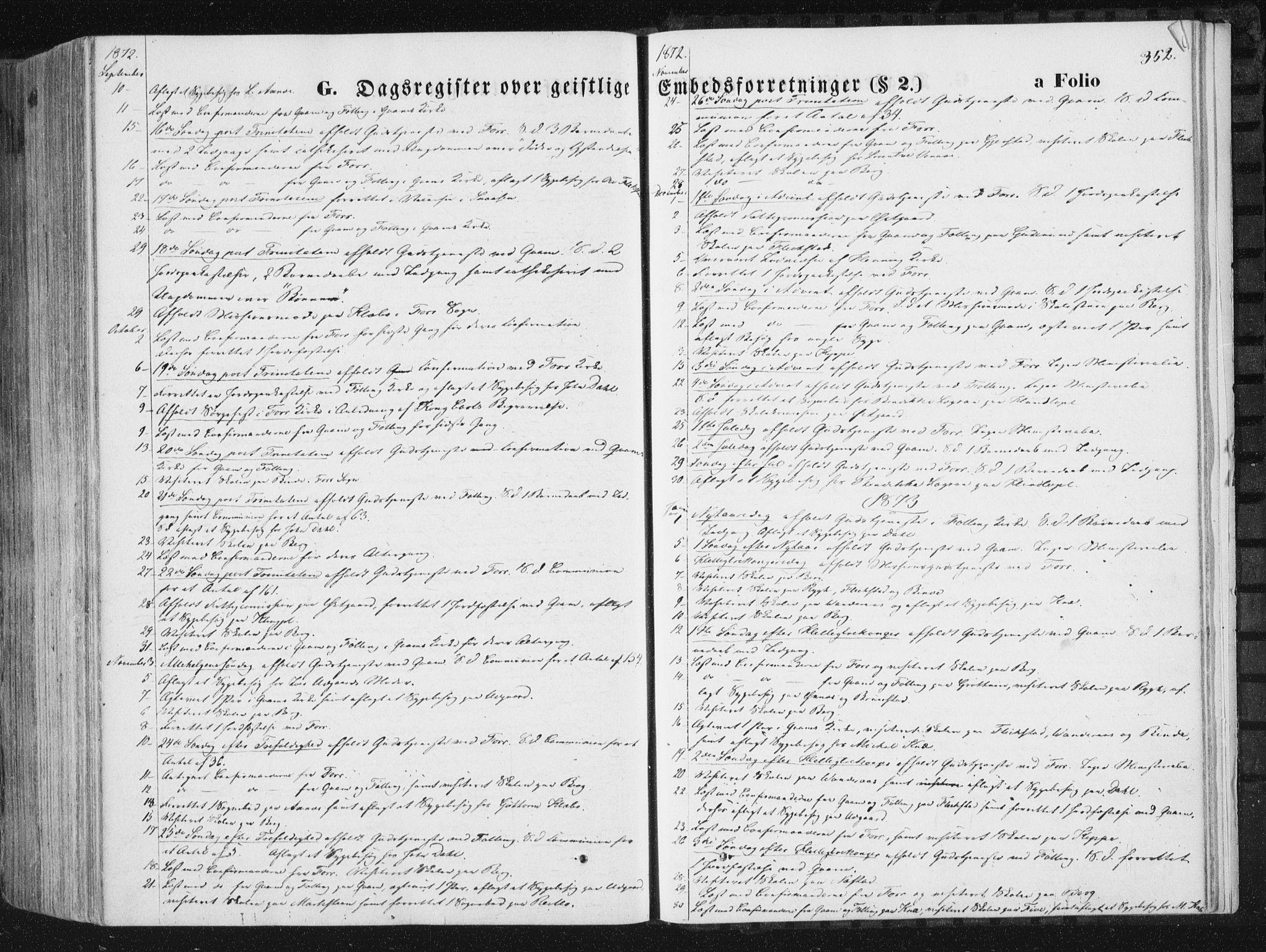 SAT, Ministerialprotokoller, klokkerbøker og fødselsregistre - Nord-Trøndelag, 746/L0447: Ministerialbok nr. 746A06, 1860-1877, s. 352